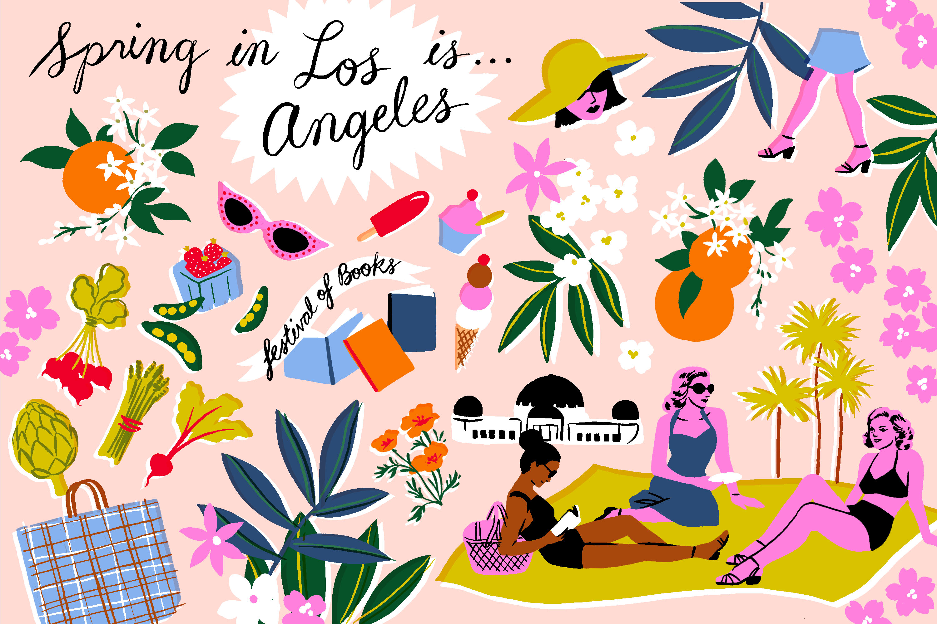 the first day of spring in la curbed la