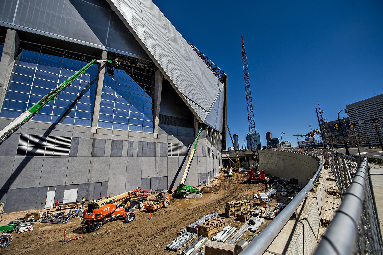 Photo update MercedesBenz Stadium home of Atlanta United and