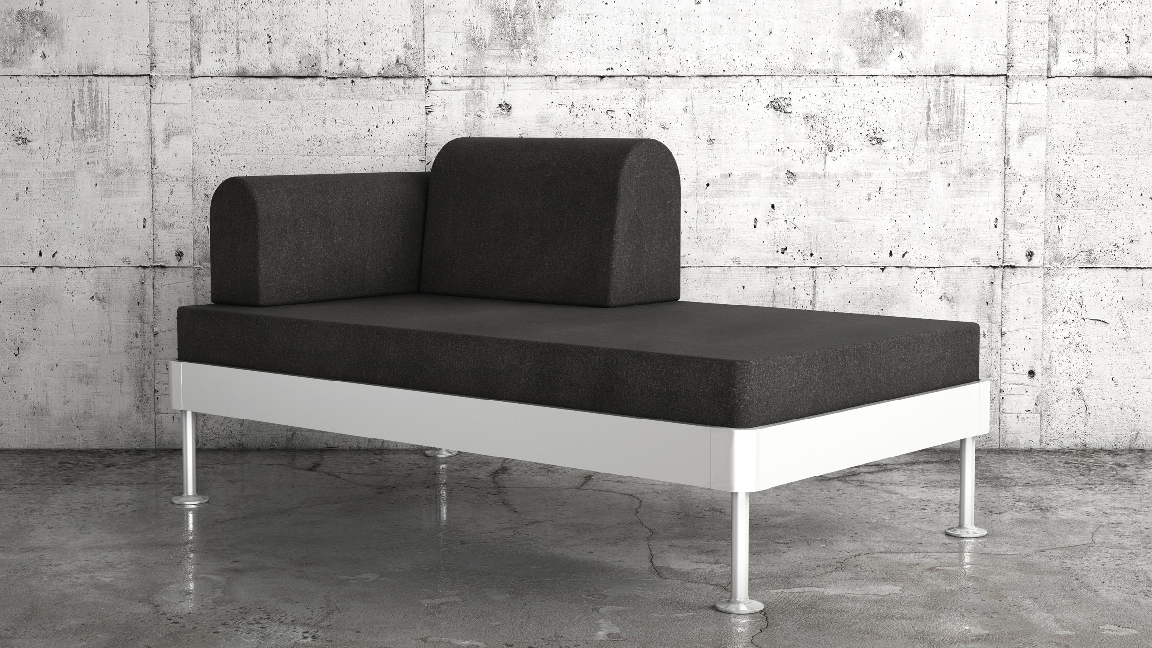 Mobile sofa d70 sofa with mobile leaves design within reach thesofa - Mobili salone ikea ...