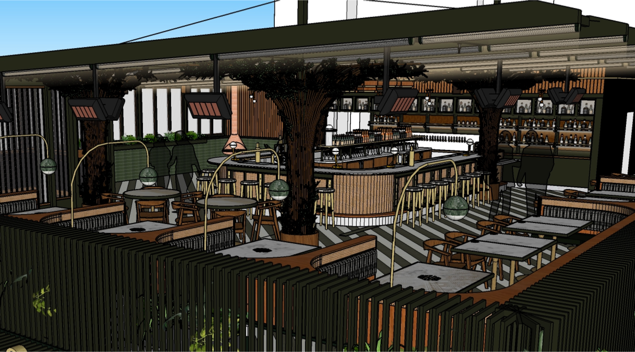 Luxe Two Level Steakhouse Sets Spring Due Date In Little