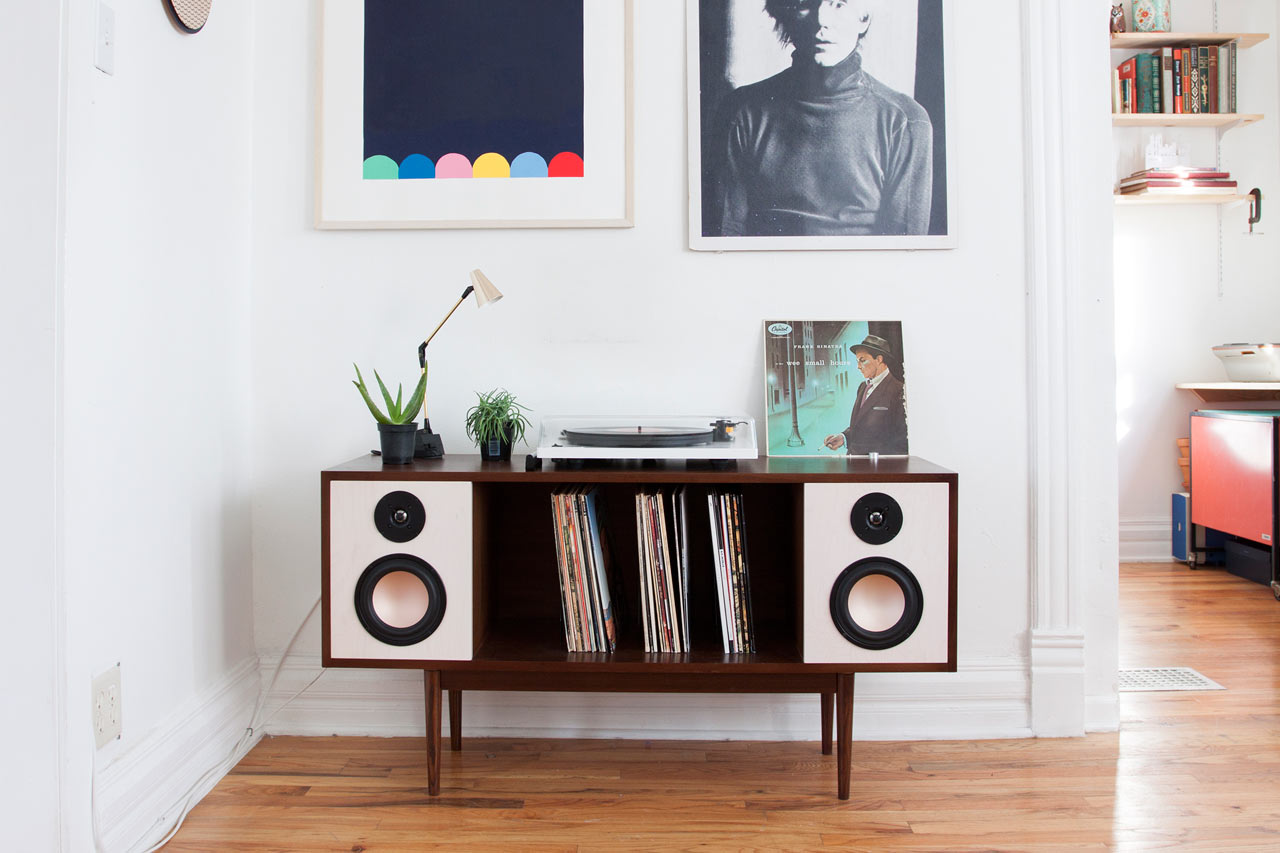 Department Chicagou0027s HiFi Console, A Midcentury Inspired,  Bluetooth Equipped Stereo System Retails For $1,895. Department Chicago