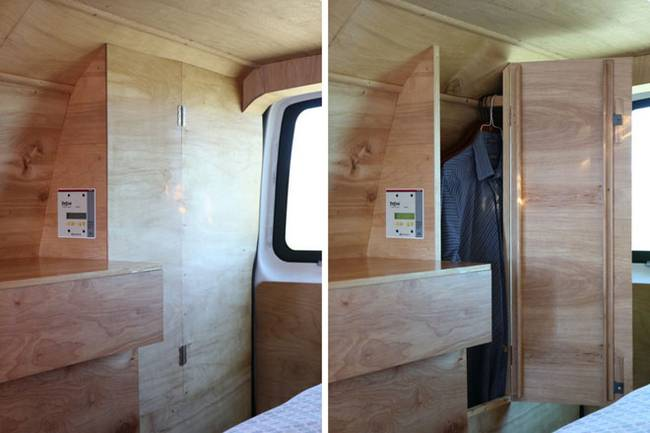 Eco Friendly Converted Van Home Is Full Of Hidden Features