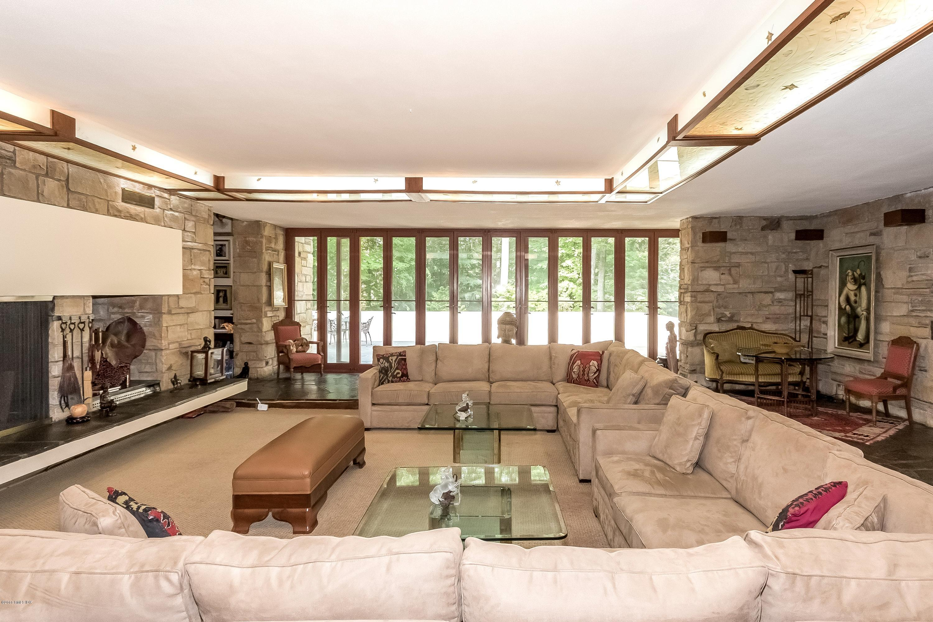 3970s fallingwater inspired home asks 35m curbed for Home gallery furniture hours