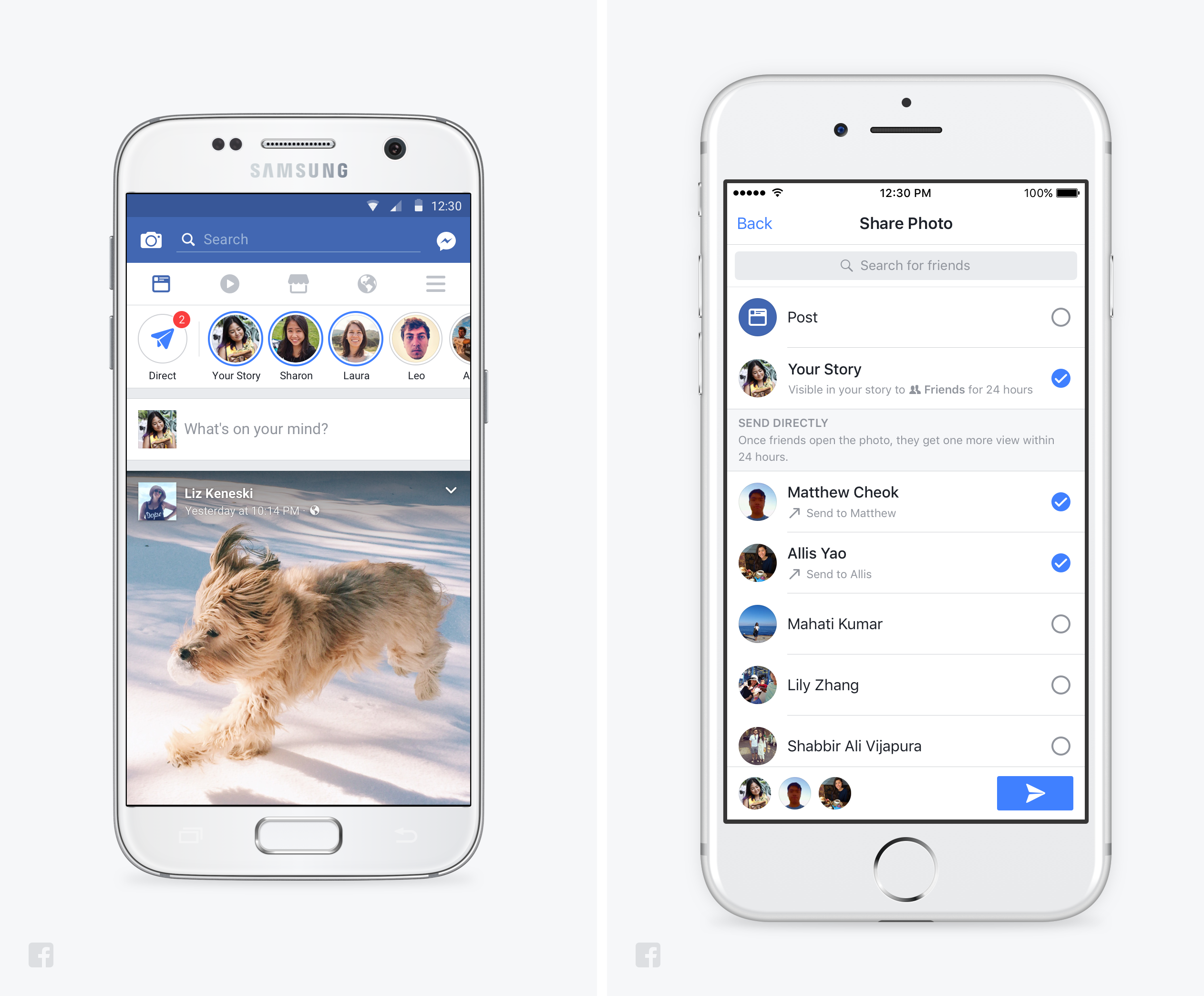 "€�the Way People Create Content Is Changing To Be From Text To Photos And  Videos,"" Said Connor Hayes, Product Manager For Facebook Stories"