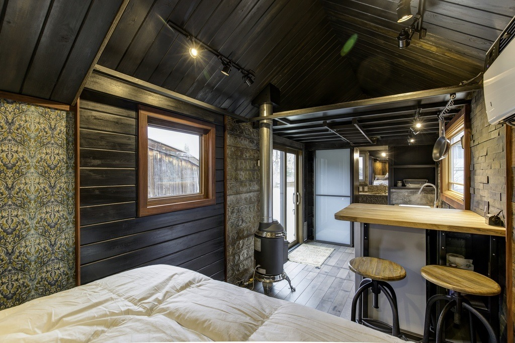 Tiny Home Designs: This Tiny House Boasts Luxury Features And Eclectic Decor