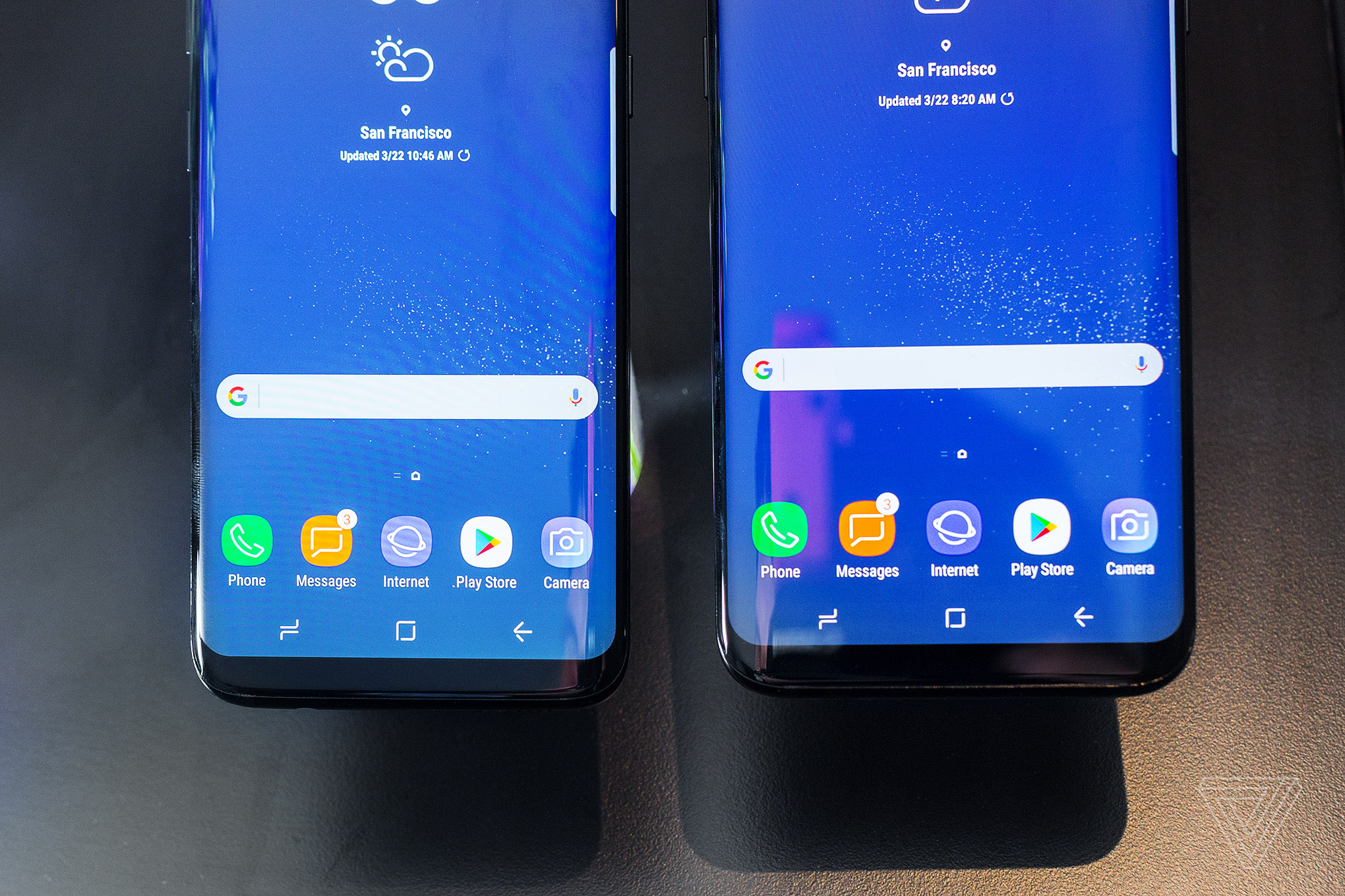 Image result for From corner to corner: S9 screen resemble to S8