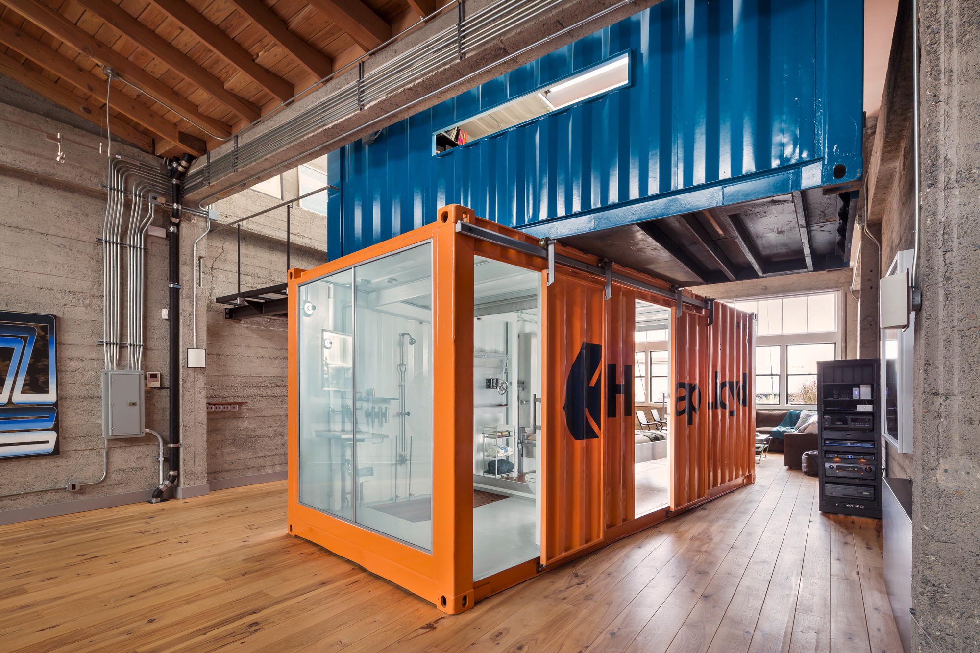 shipping container home in pacific heights asks 4 9 million curbed sf. Black Bedroom Furniture Sets. Home Design Ideas