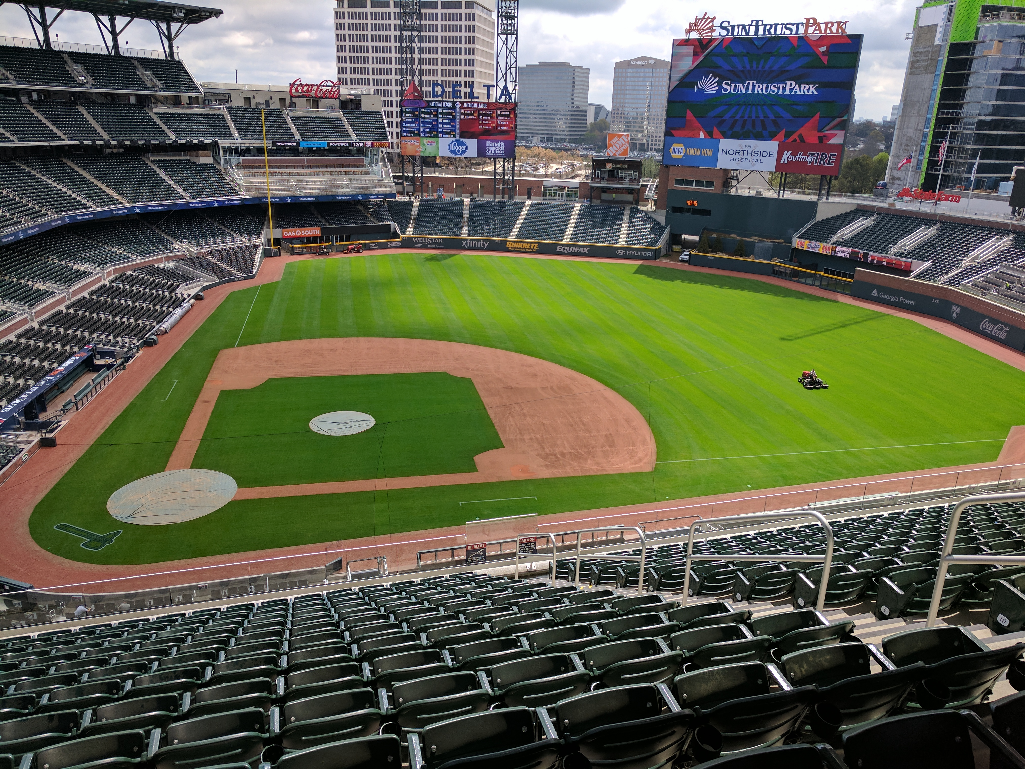 As The Braves Prepare To Move Into Their New Home In Cobb County They Do So With A Revamped Roster Stocked Veterans Suntrust Park May Not Play Host