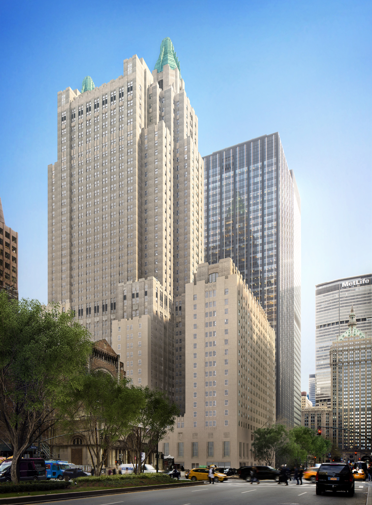 See The Waldorf Astoria S Som Designed Renovation Curbed Ny