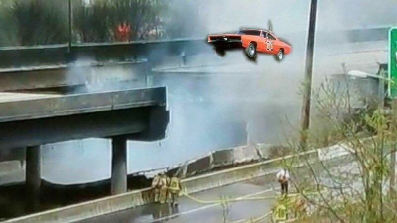 C8NbpZHV0AMRhiZ_large atlanta's i 85 fire, bridge collapse yield consternation, awesome