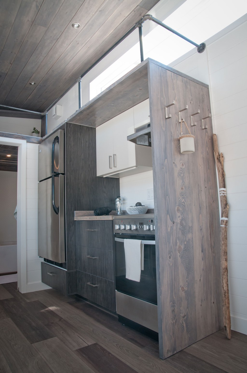 tiny house with private  u2018bedroom u2019 offers minimalist chic