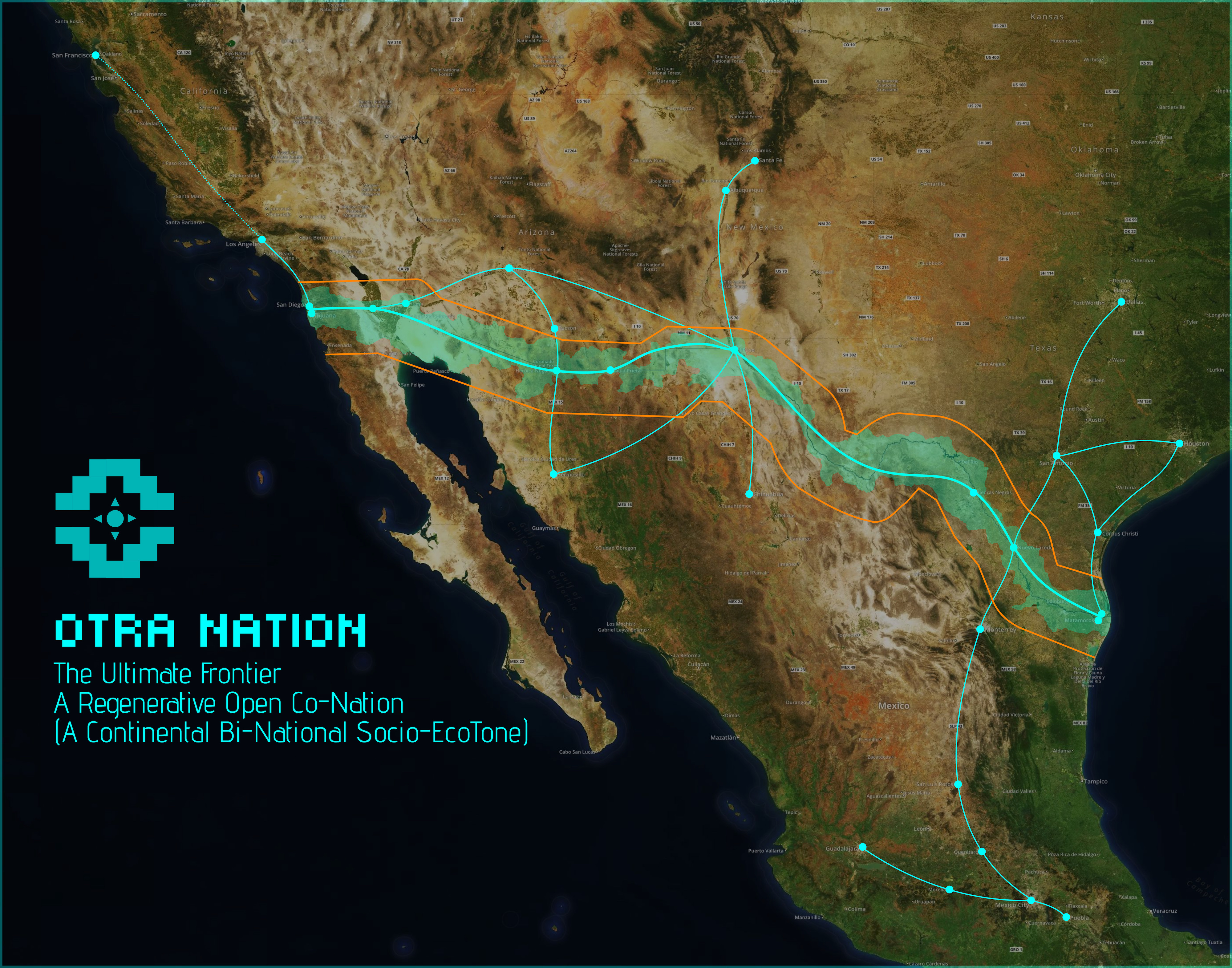 If Nothing Else The Made Collective S Members Who Say They Ve Delivered Their Otra Nation Proposal To The Us And Mexican Governments Are Ambitious