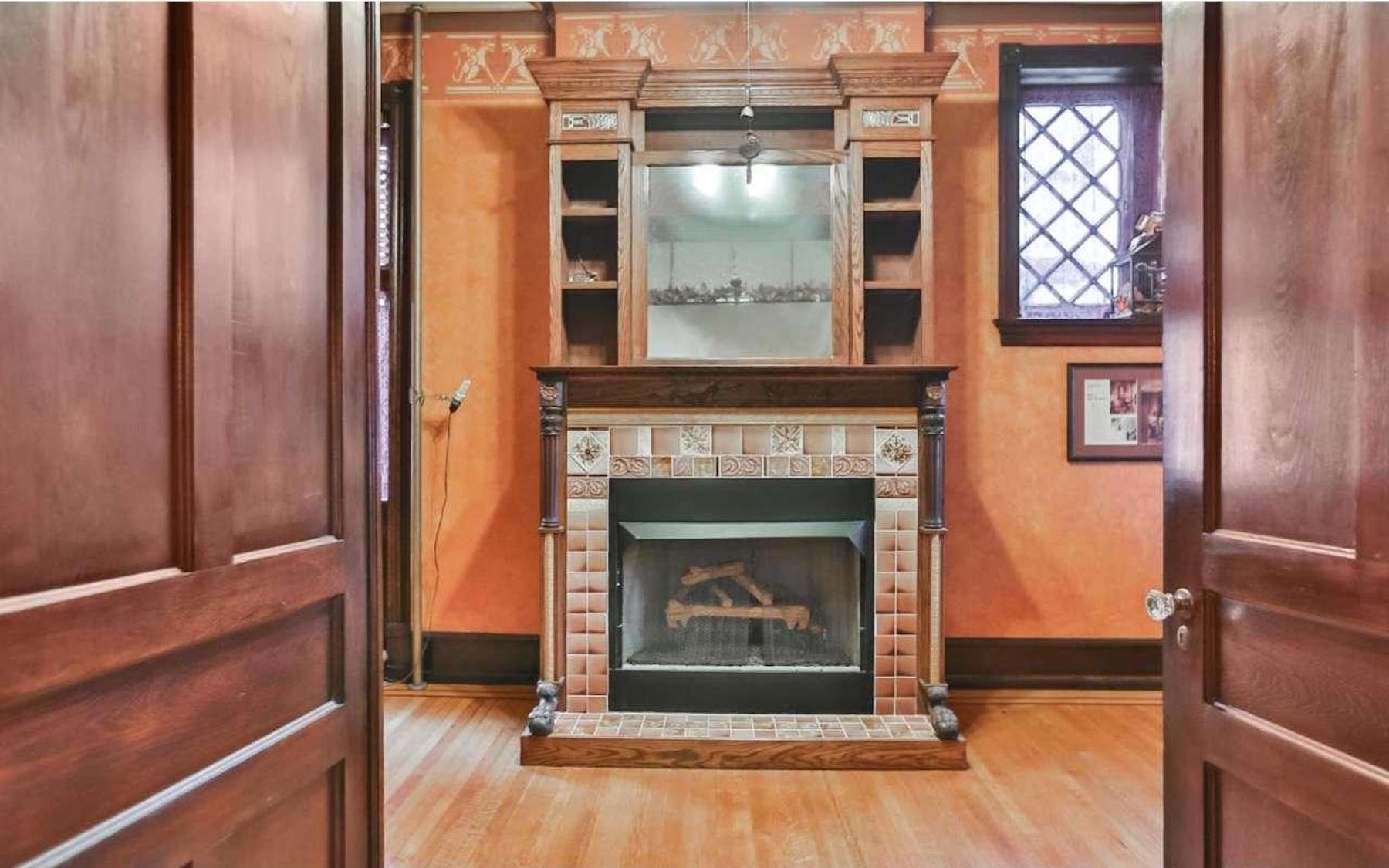 restored 250k germantown victorian has addams family vibes