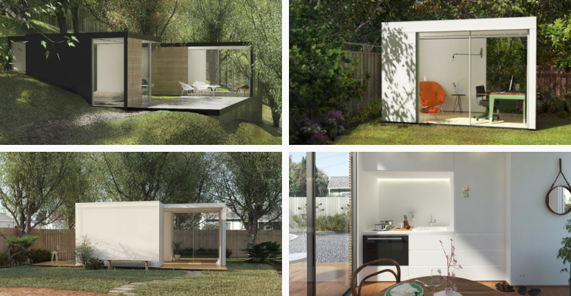 Portable Prefab Homes prefab homes from cover are designedcomputer algorithms - curbed