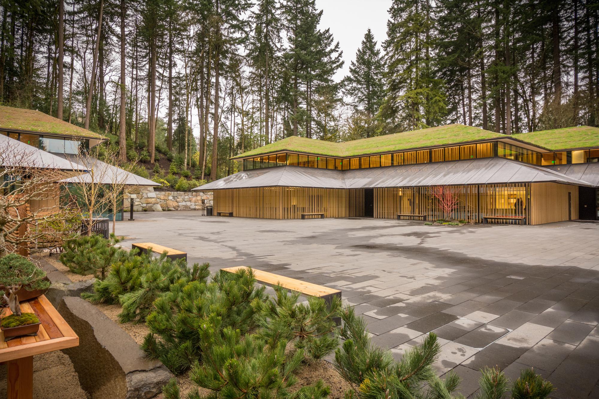 portland japanese garden s kengo kuma designed expansion is now