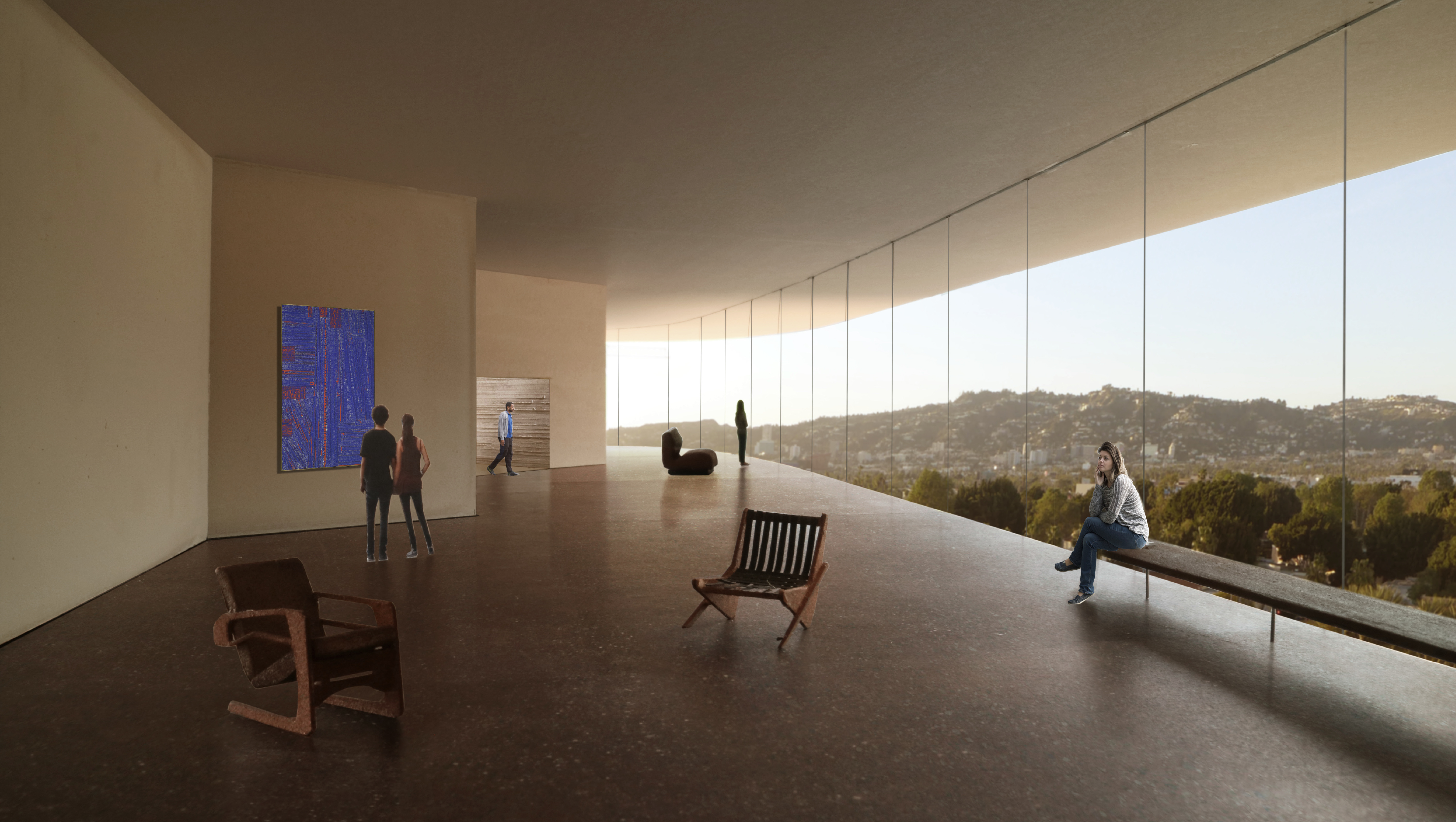 lacma redesign here are the newest renderings curbed la zumthor s proposal has been to build a bridge over wilshire and that s still very much a part of the plan in 2015 kcrw s design and architecture host