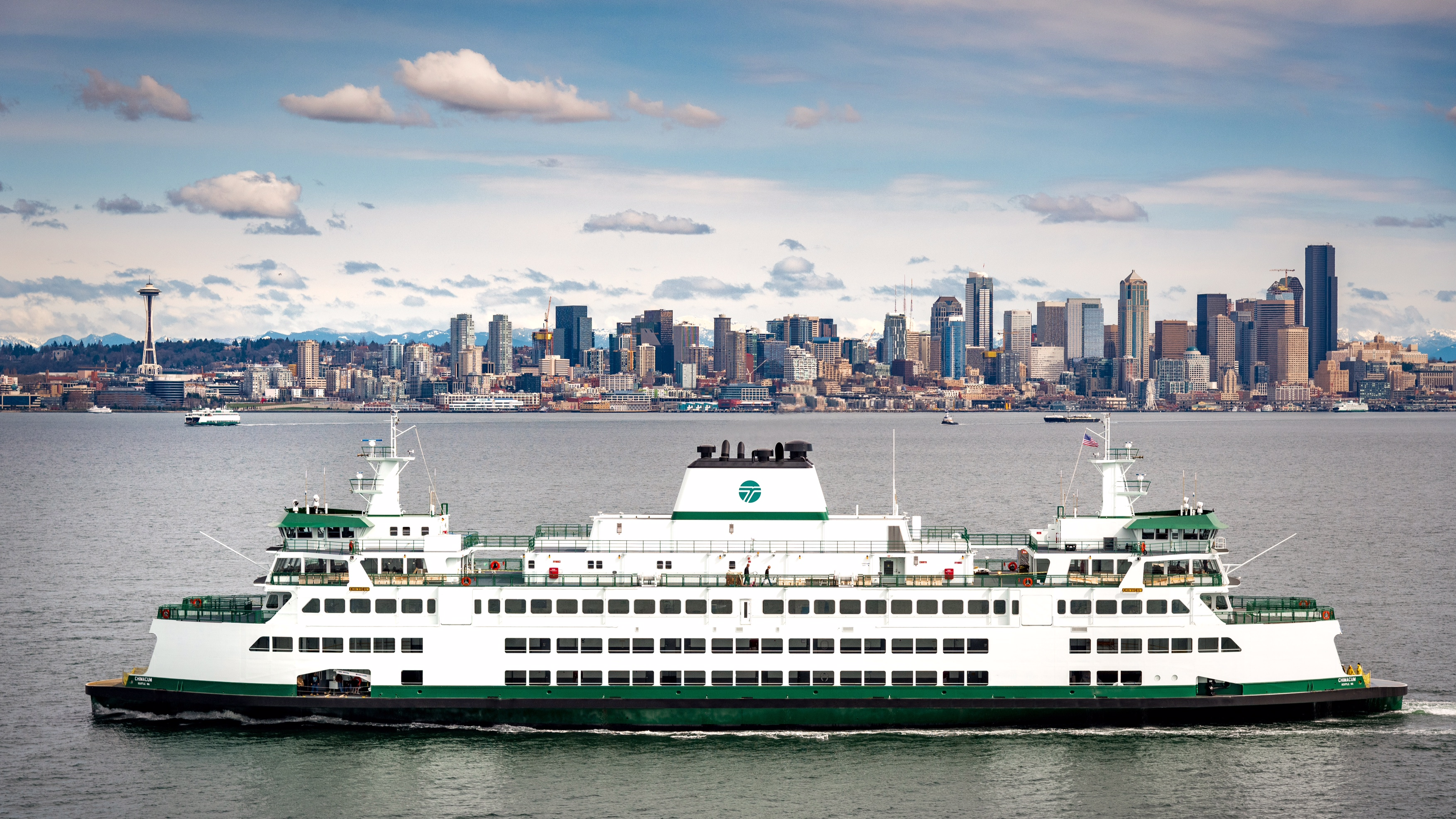 Washington State Ferries Welcomes New Vessel Chimacum