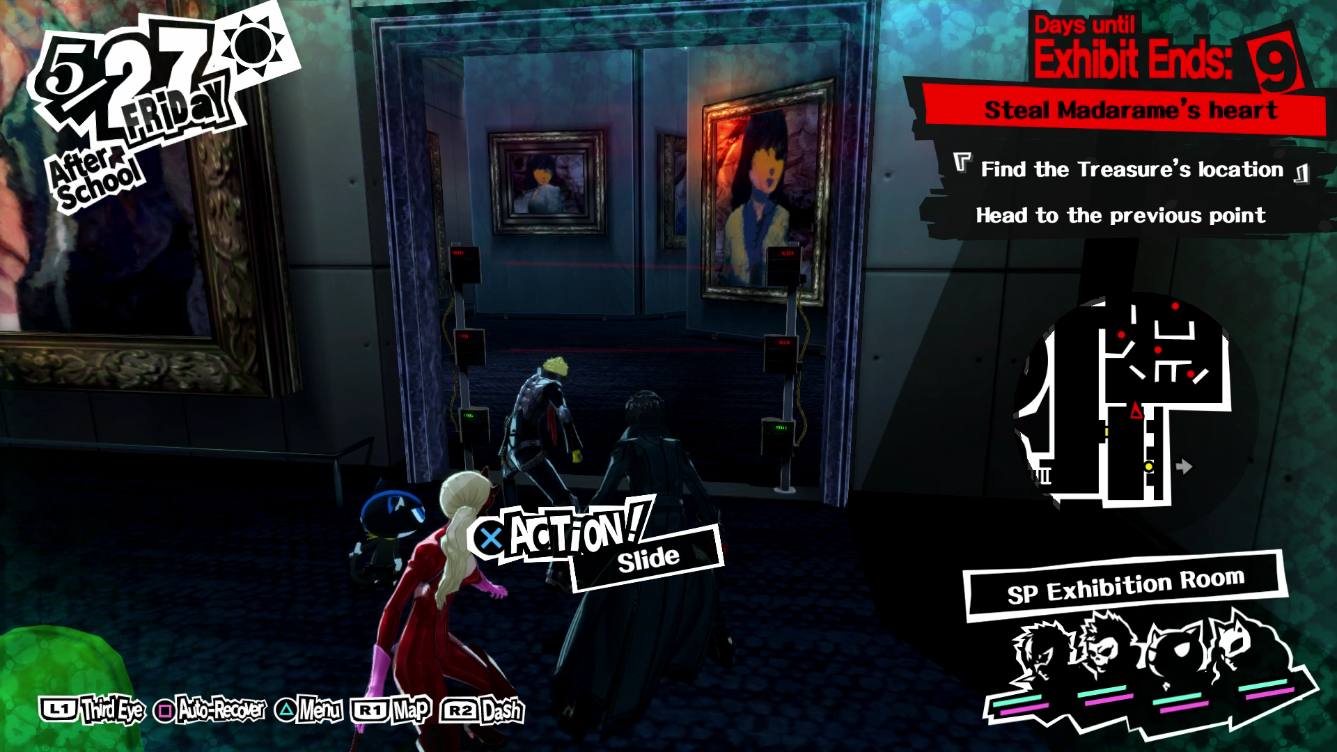 persona 5 how to clear palace in one day