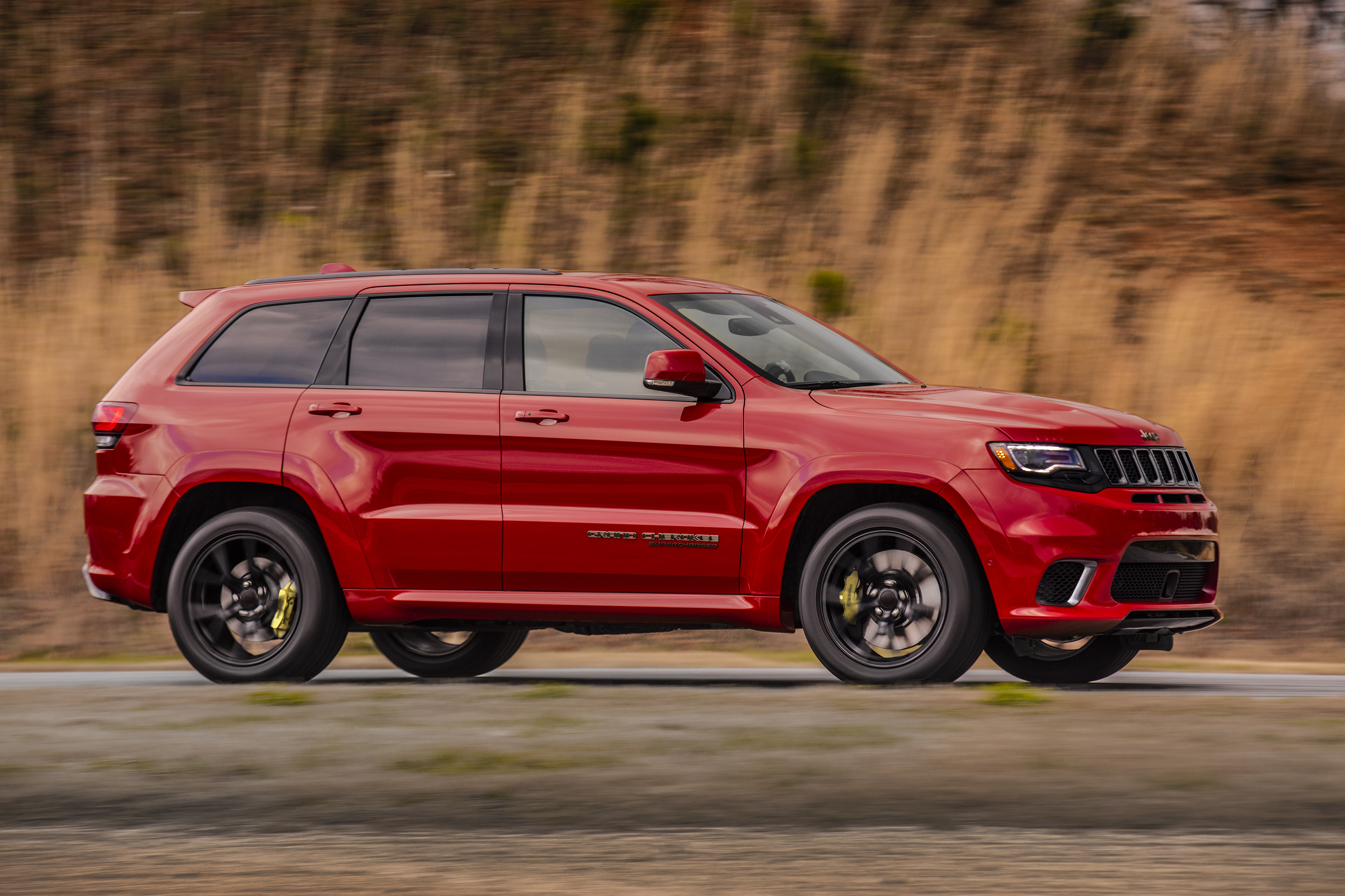 jeep says the grand cherokee trackhawk is the fastest suv ever