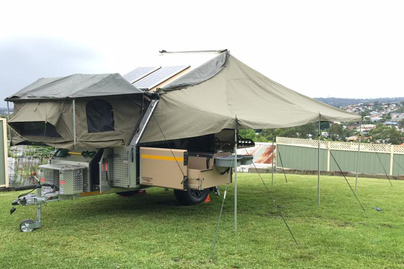 Off-road camper was built to survive the Australian ...