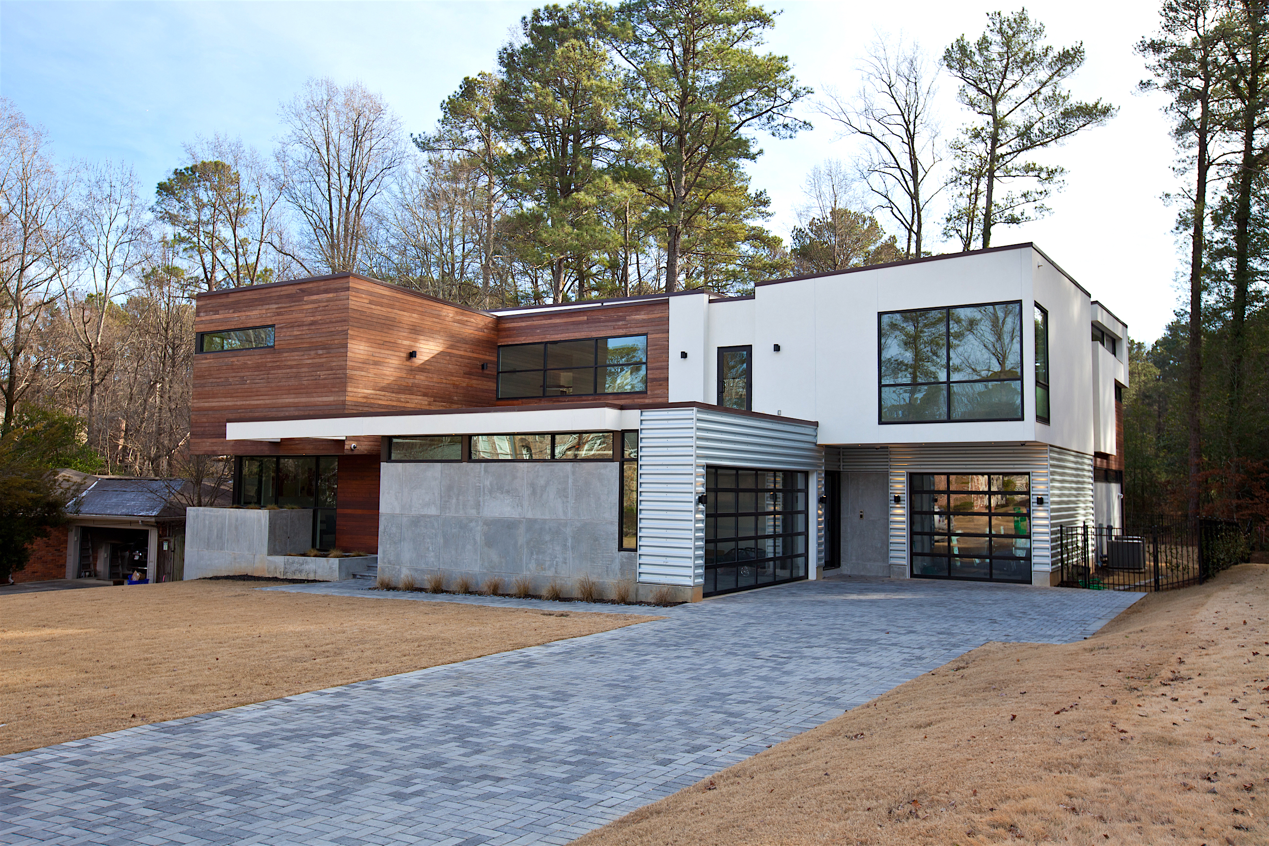 Atlanta design festival meet the eclectic modern homes on Contemporary homes atlanta