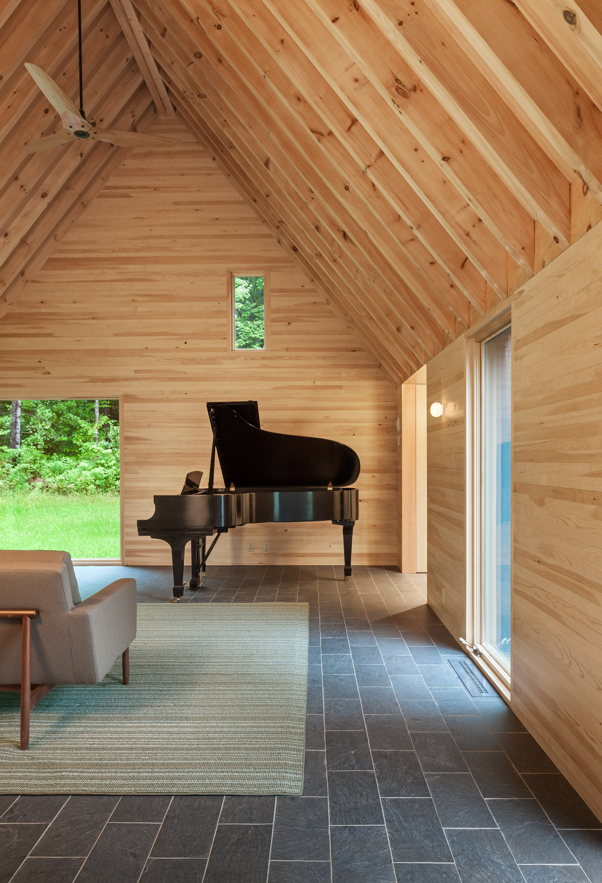 These pared-down cabins were built to inspire classical ...