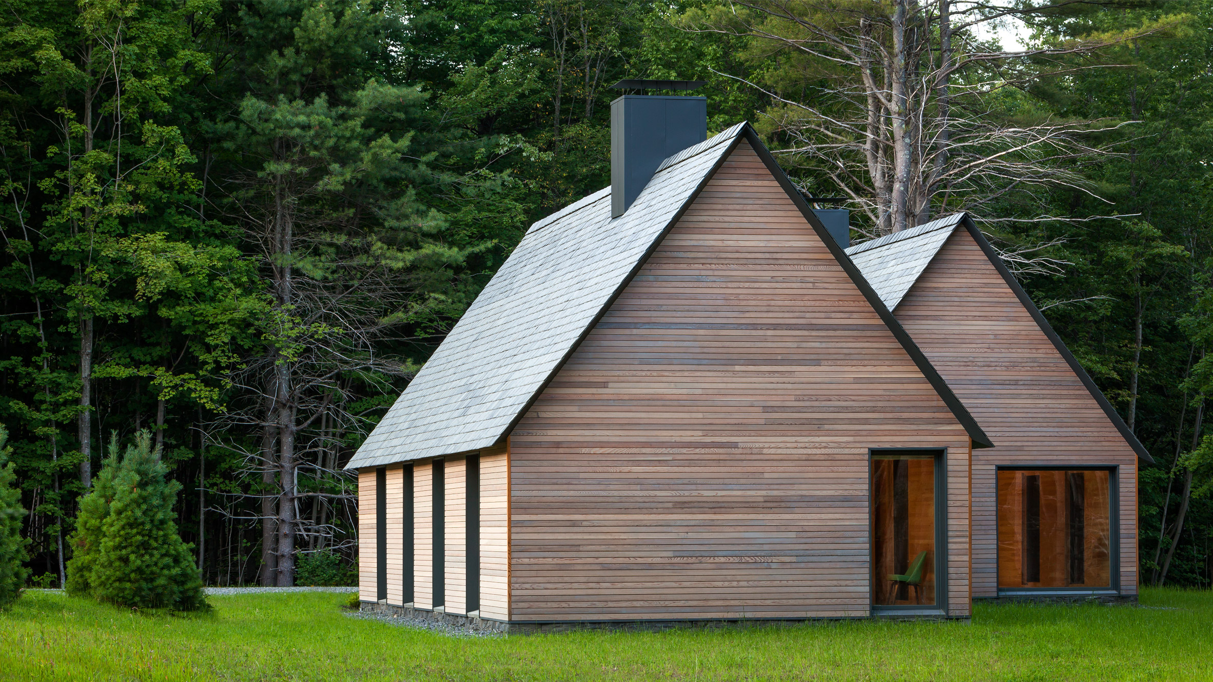 These Pared Down Cabins Were Built To Inspire Classical