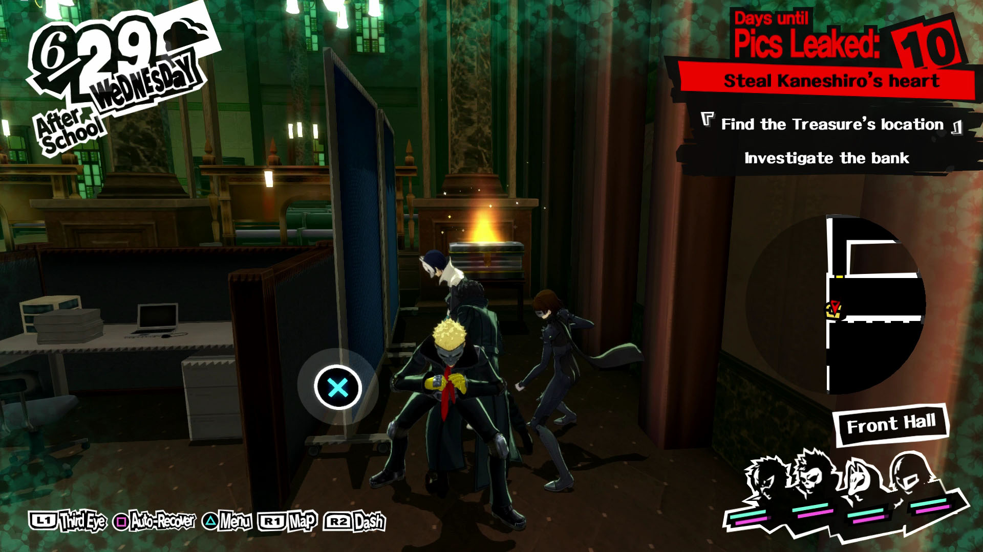 Persona 5 guide: Kaneshiro's Bank palace walkthrough - Polygon