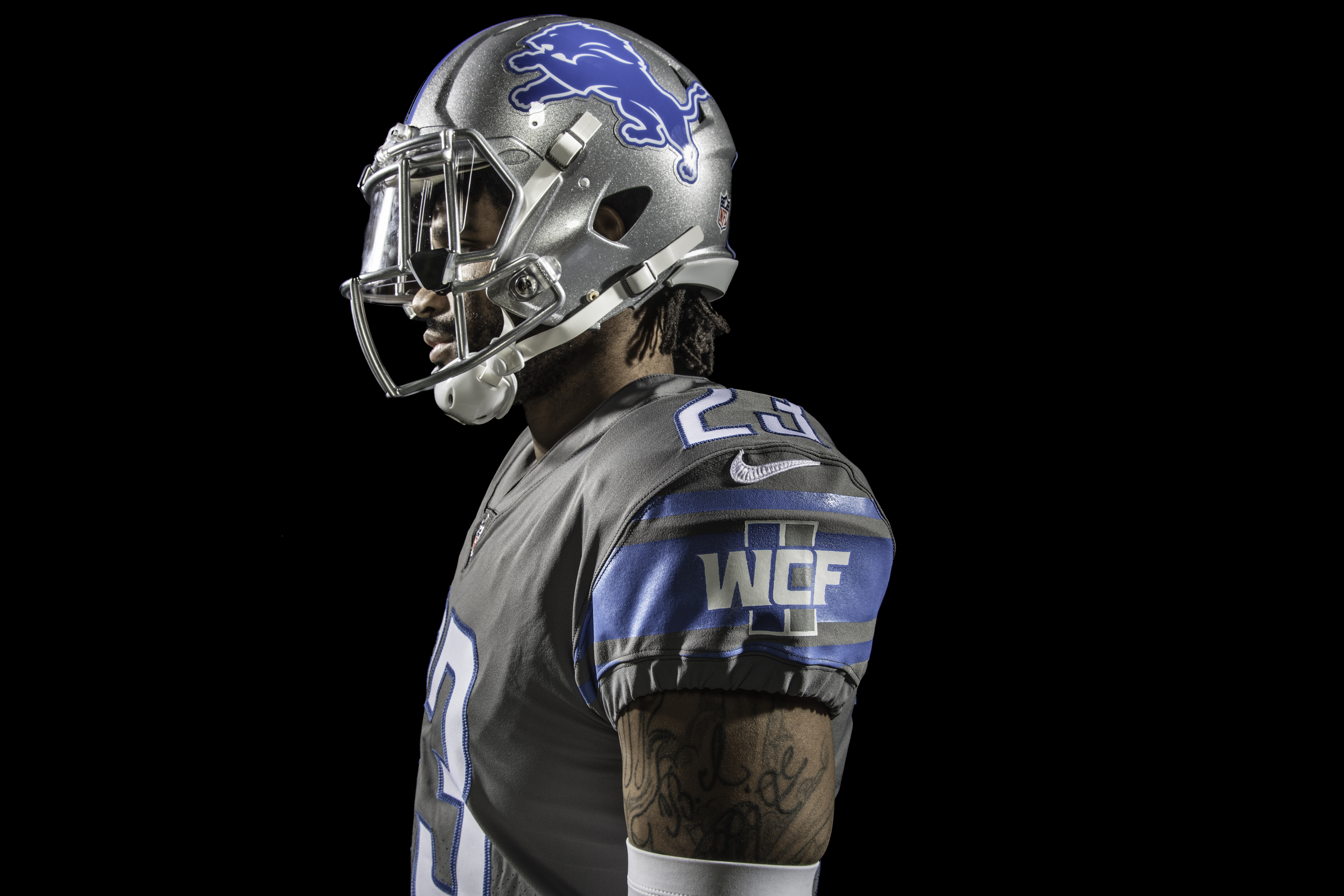 pretty nice be05e a0318 what is wcf on detroit lions jersey