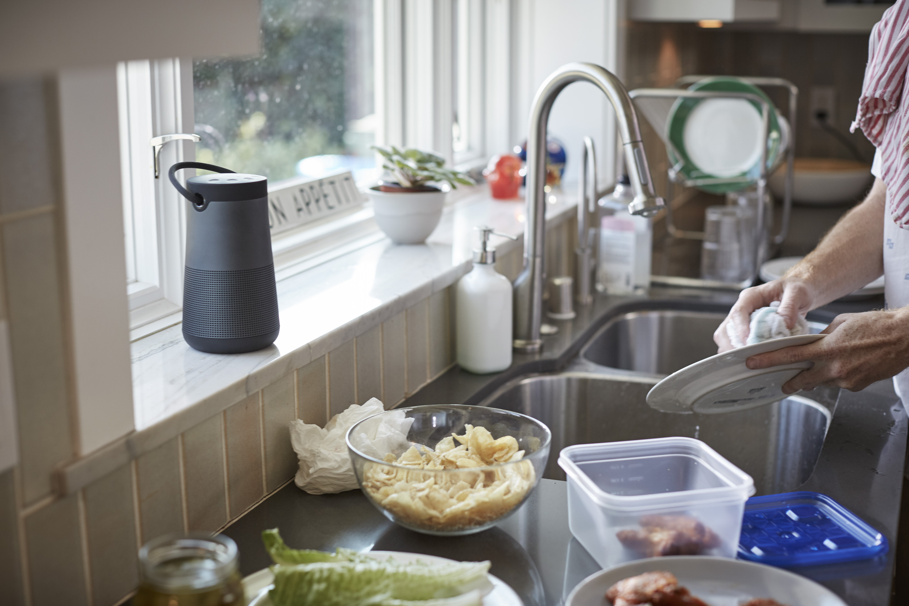 The Main Differences Between The Two Speakers Are Size And Battery Life.  The Revolve Measures Around 6 Inches Tall; The Revolve+ Is 7.2 Inches With  A Larger ...