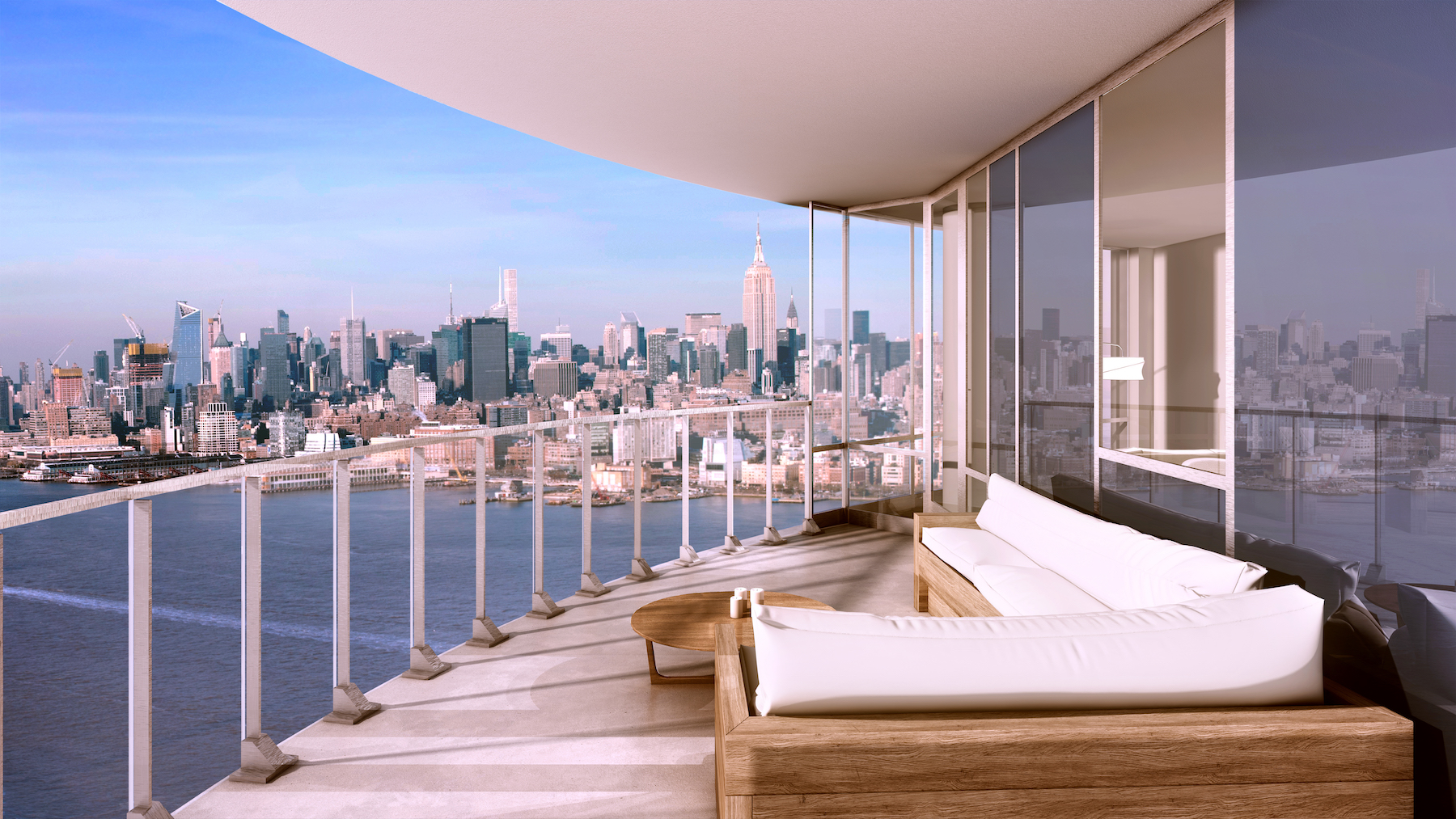 Jersey city 39 s newest luxury rental ellipse launches from for The balcony apartments