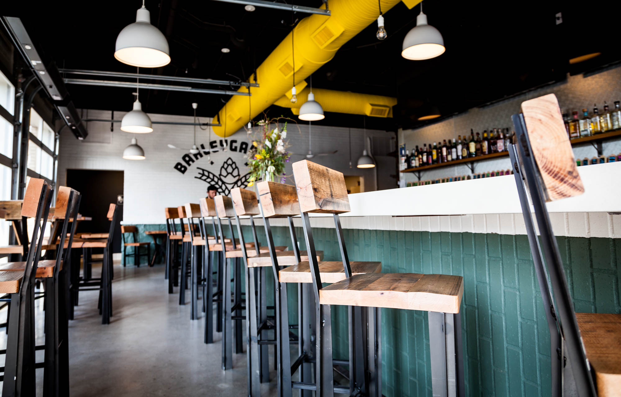 Inside Barleygarden Kitchen & Craft Bar the Hop City Team s New