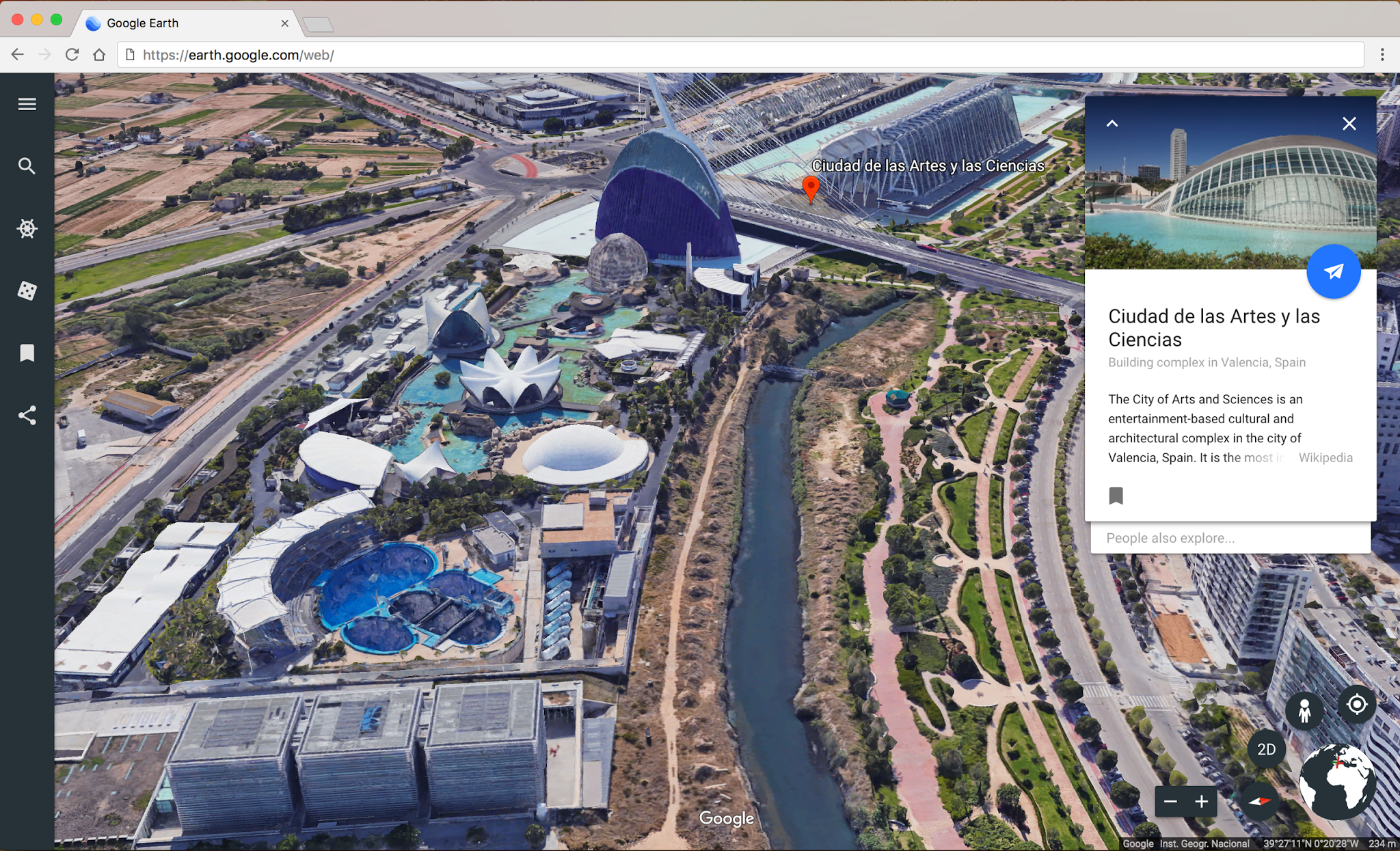 Redesigned google earth brings guided tours and 3d view to chrome the revamped google earth which the company says was two years in the making is now available in chrome or on android and will be coming to ios and gumiabroncs Image collections