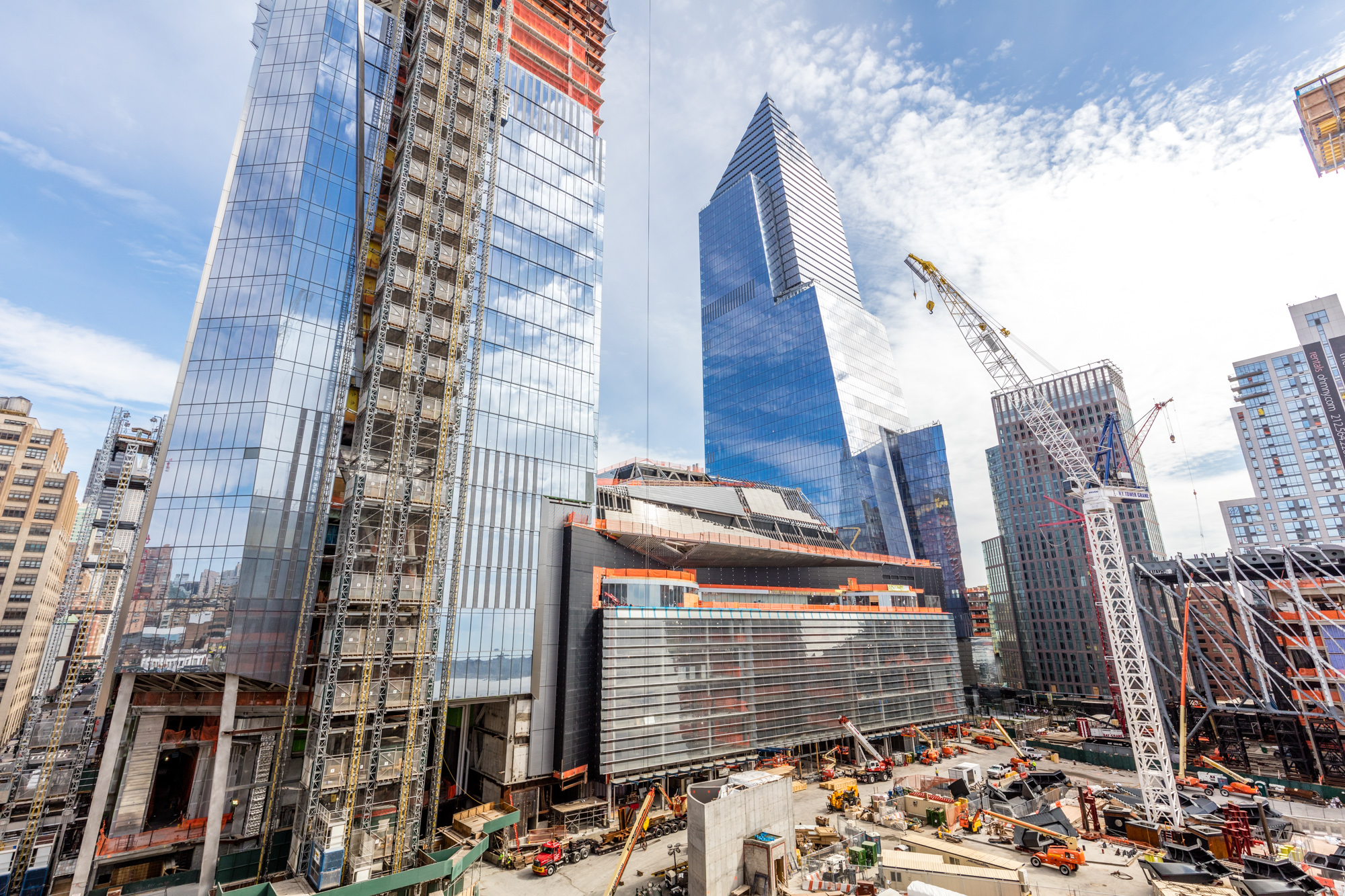 Hudson Yards construction update a status check on the Manhattan