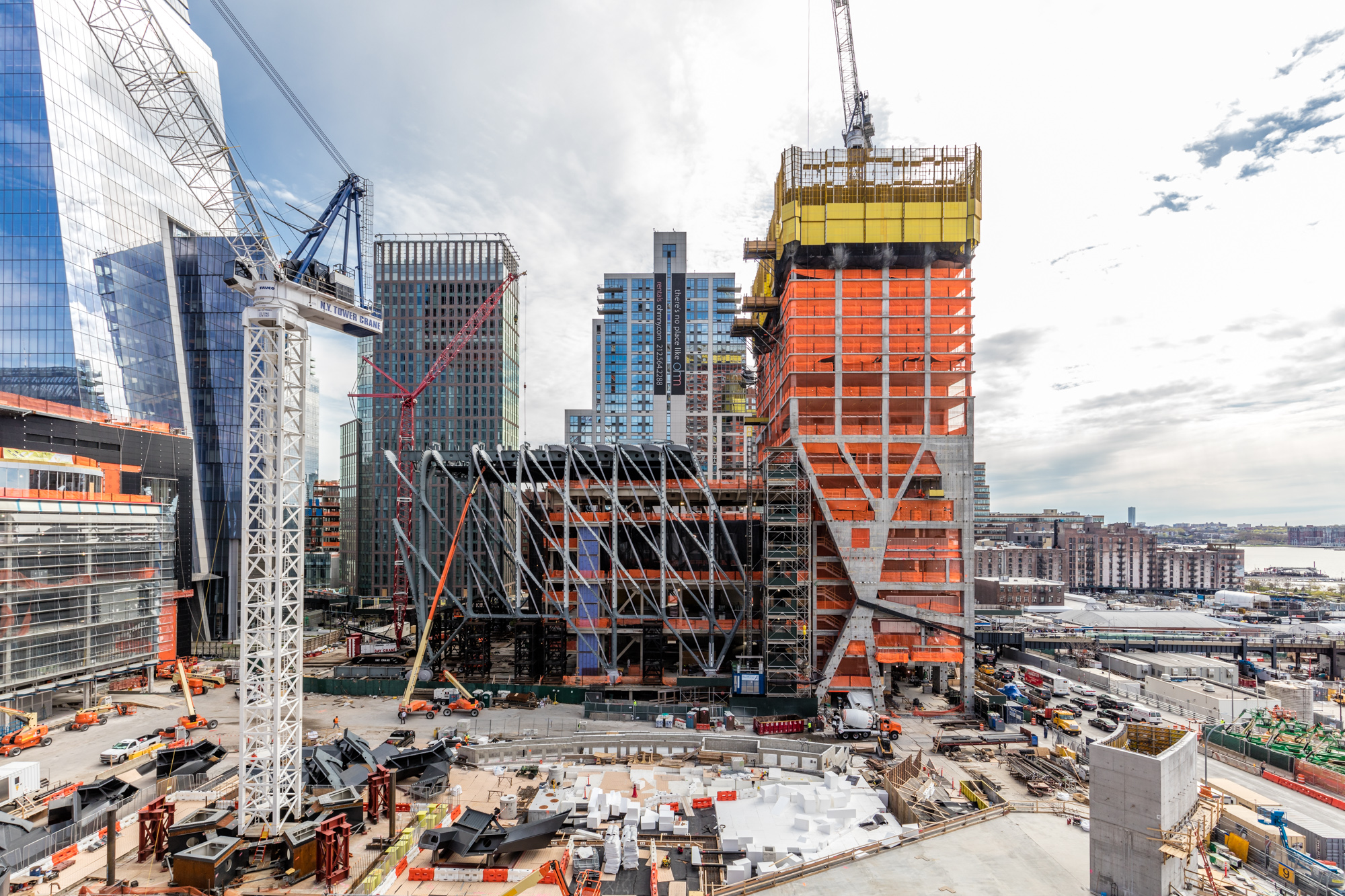 hudson yards project It forces you to make a big bet all at once that's jay cross, president of related hudson yards, referring to the massive project underway to transform the the 28.