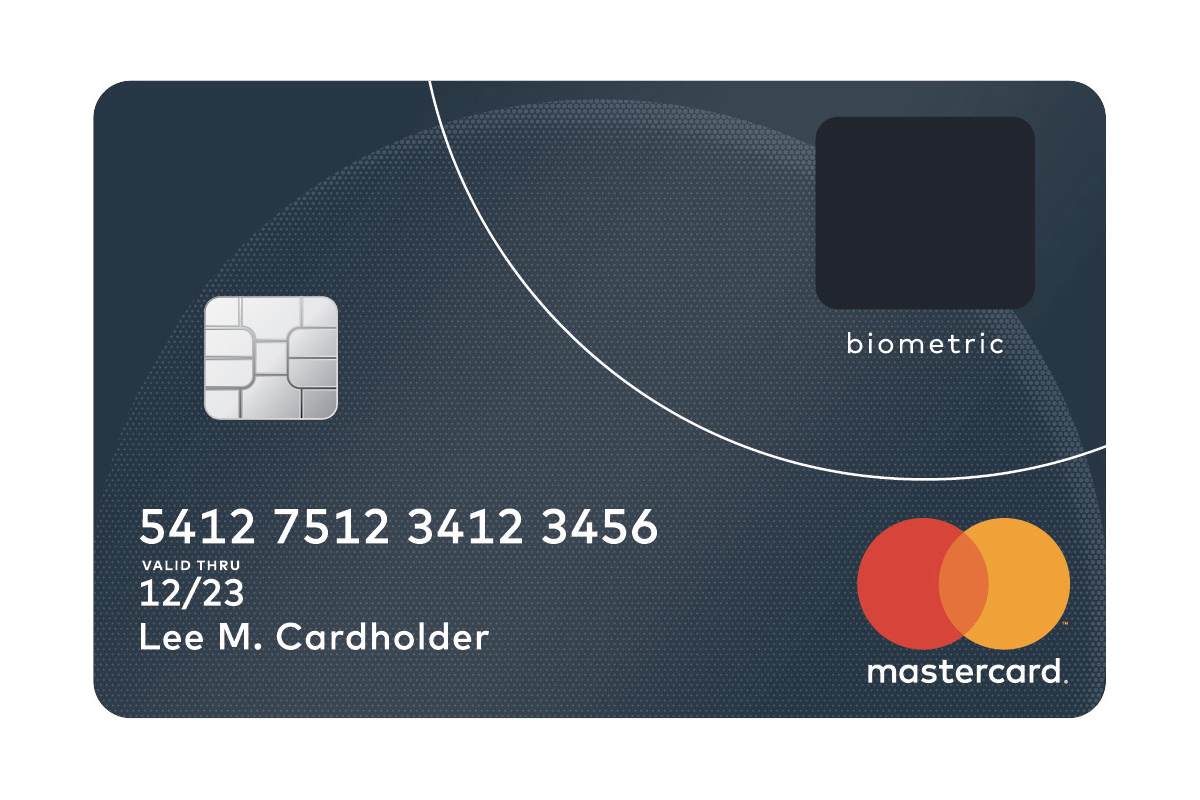Mastercards new credit card has a builtin fingerprint scanner