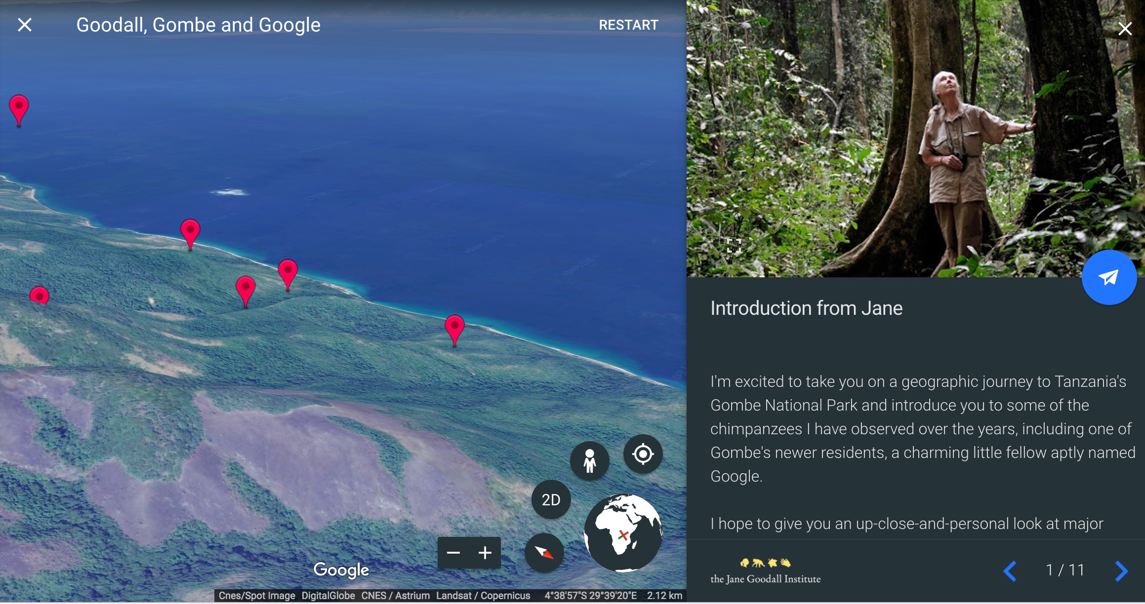 Five New Things You Can Do With Google Earth The Verge - Google 3d maps live