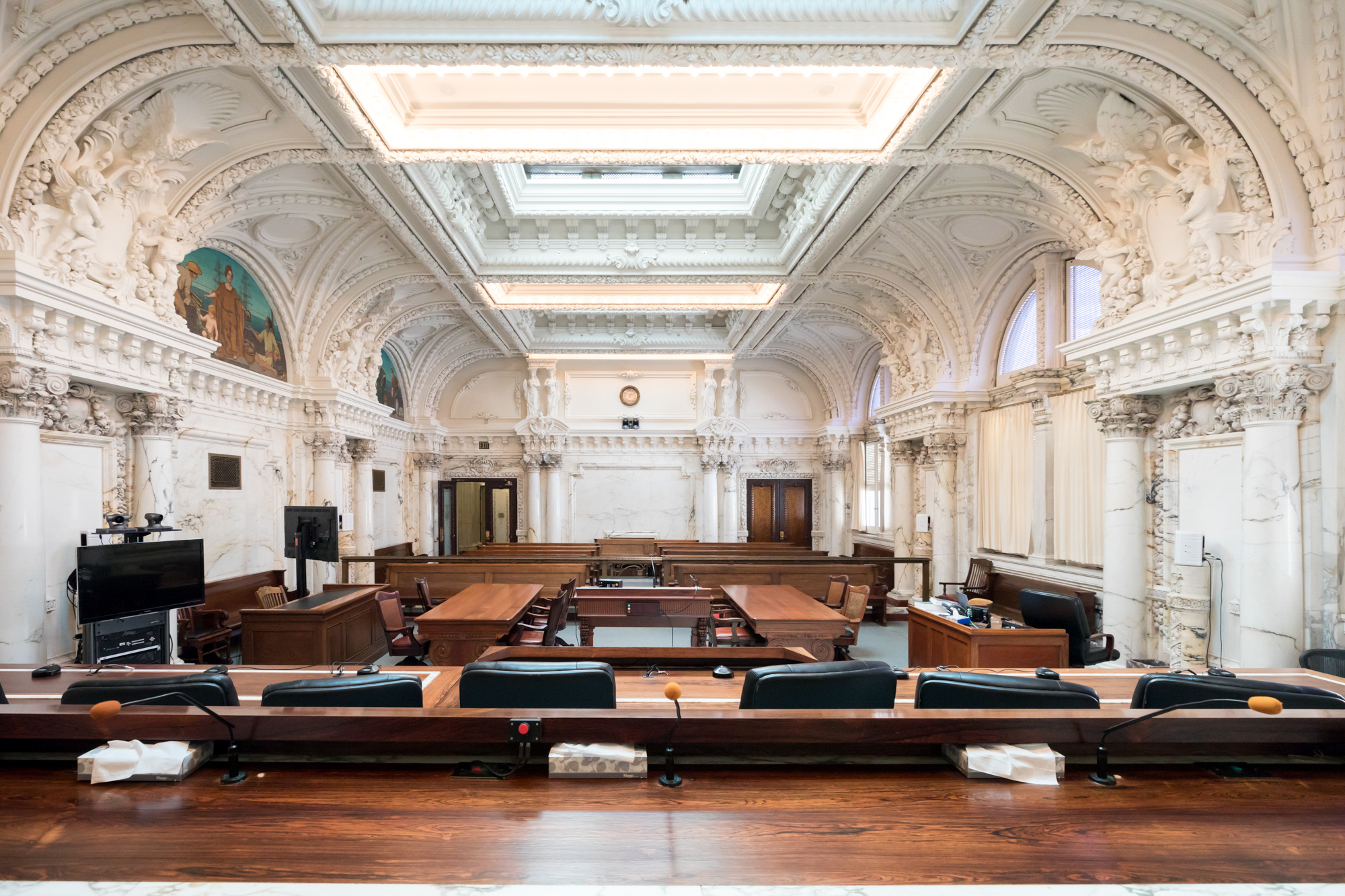 Beaux Arts Interior Design Plans the u.s. court of appeals for the ninth circuit a brief history