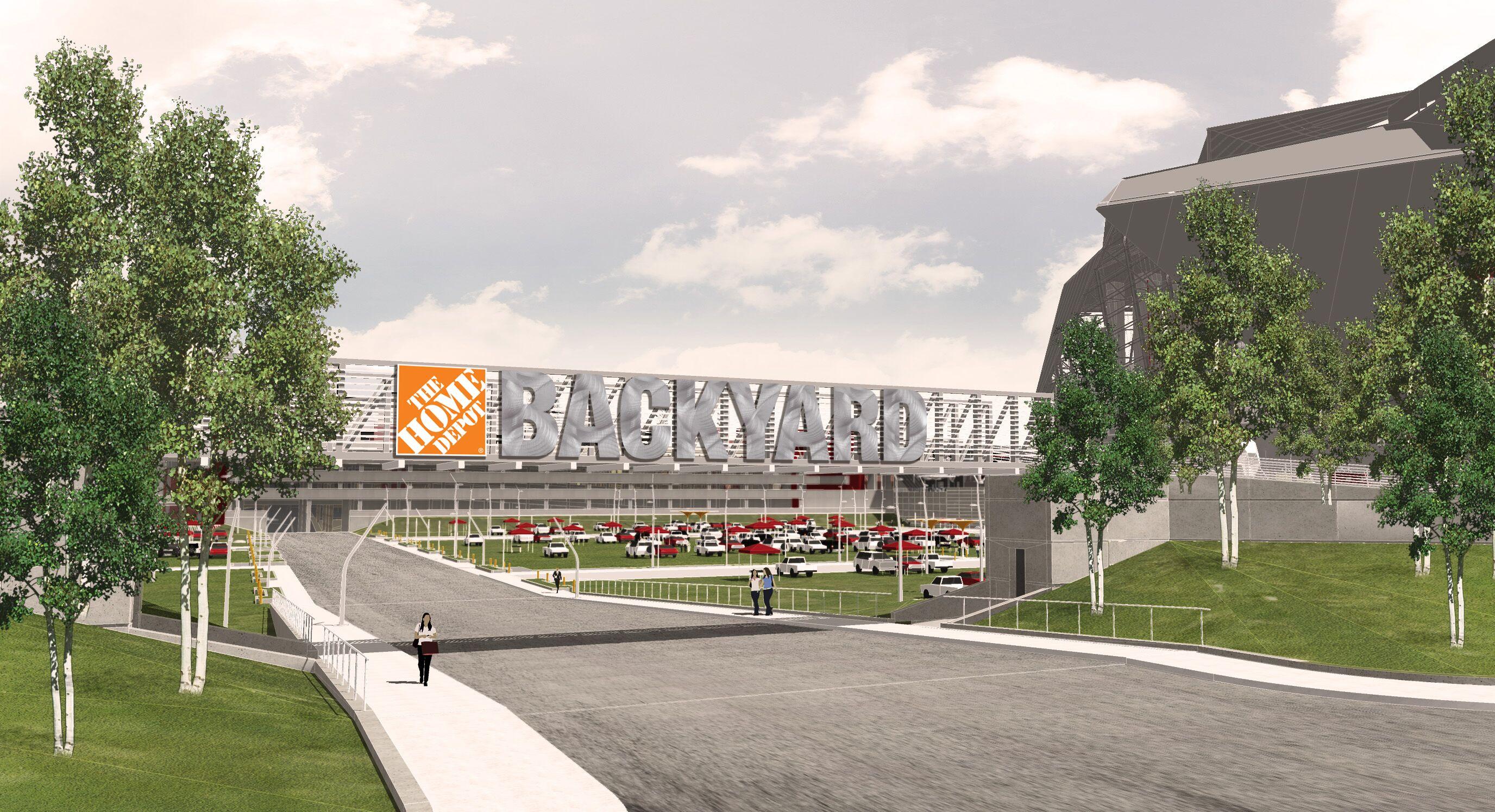 Meet the Atlanta Falcons\' new greenspace at Mercedes-Benz Stadium ...