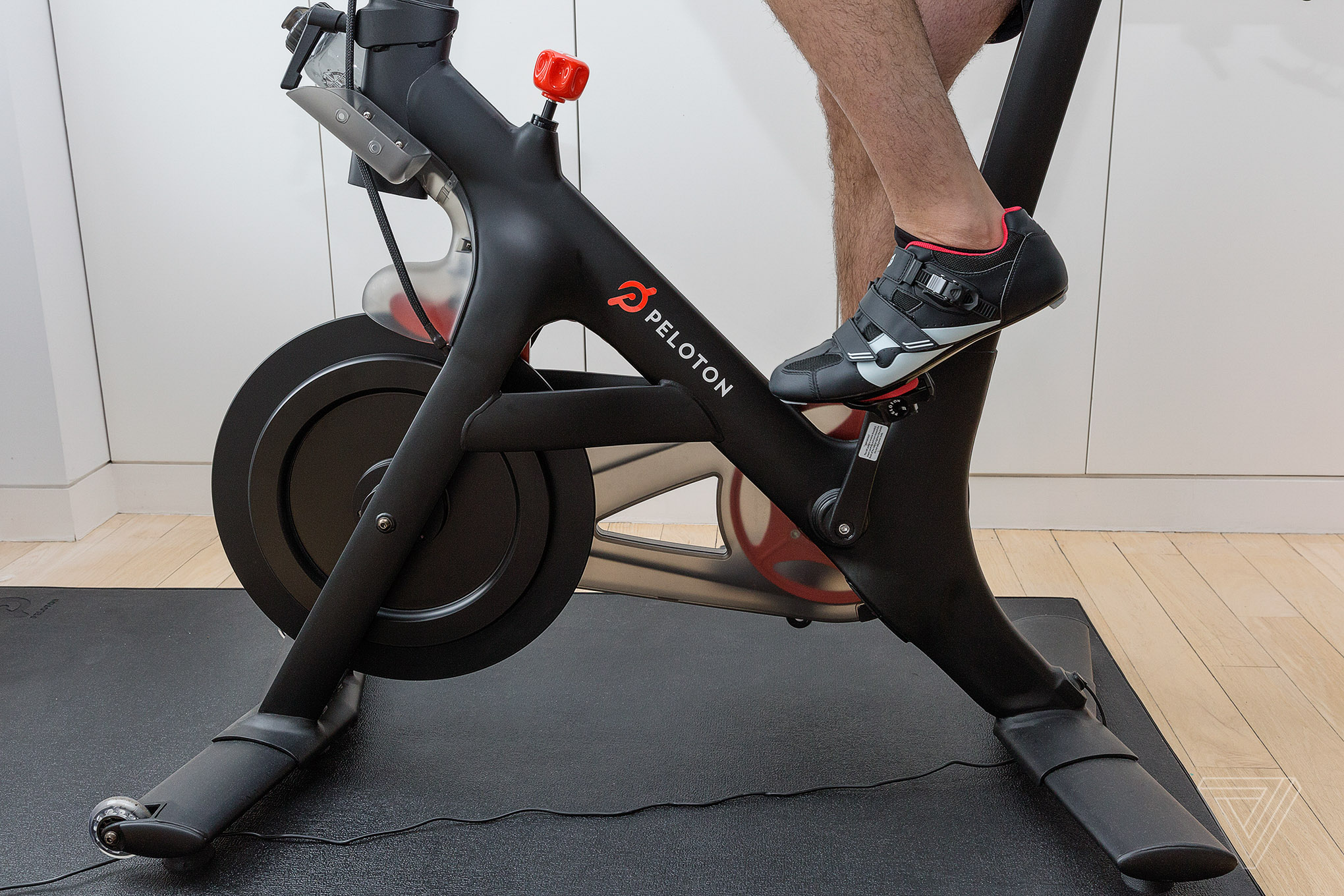 my two month ride with peloton the cultish internet connected fitness bike the verge. Black Bedroom Furniture Sets. Home Design Ideas