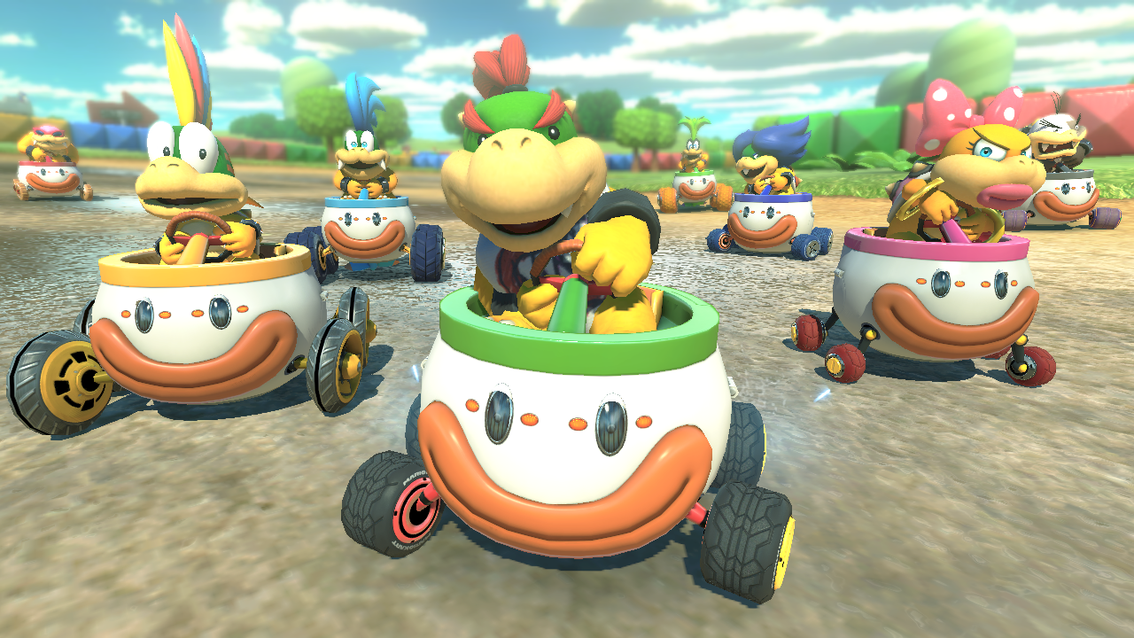 Mario Kart  Deluxe How To Unlock Gold Car Parts