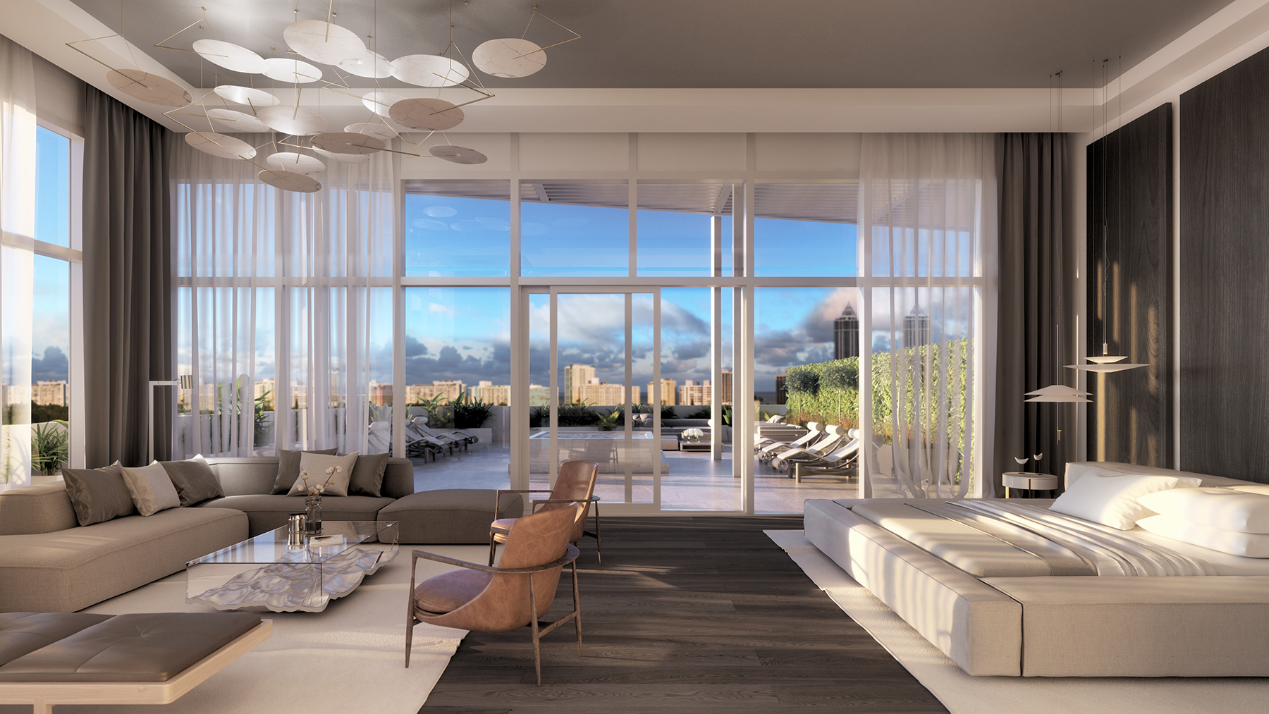 Previewing the penthouse collection at Ritz-Carlton Residences ...