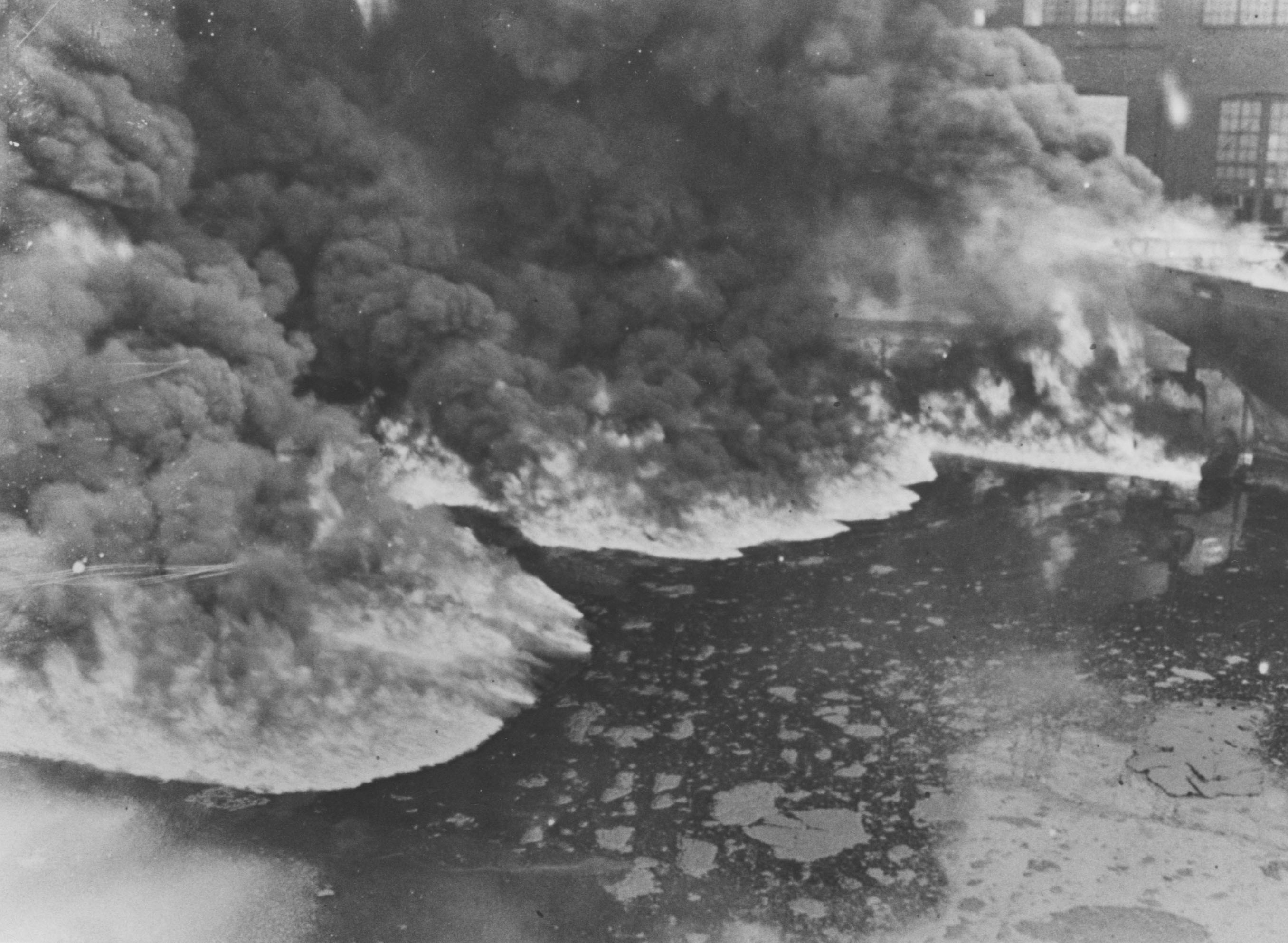 48 Years Ago, Cuyahoga River Catches Fire; Today, Mariners ...