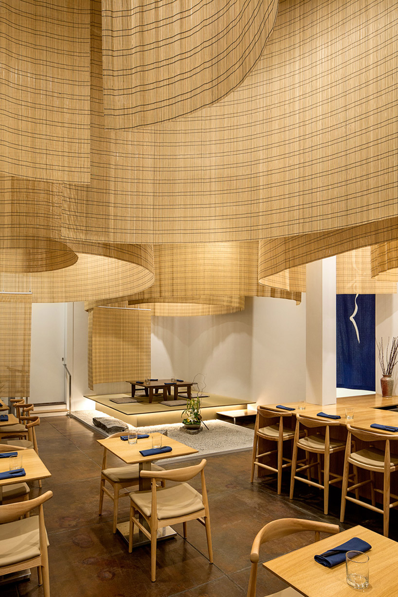 Kengo Kuma Fills Portland Restaurant With Delicate Bamboo