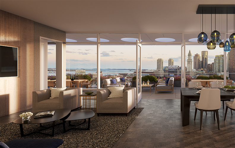 The 239 rentals inside the 484,000-square-foot building will range from  studios to one-, two-, and three-bedrooms. Amenities will include a 24-hour  lobby, ...