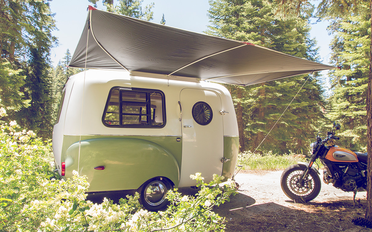 This Retro Camper Trailer Was Inspired By Vintage Design