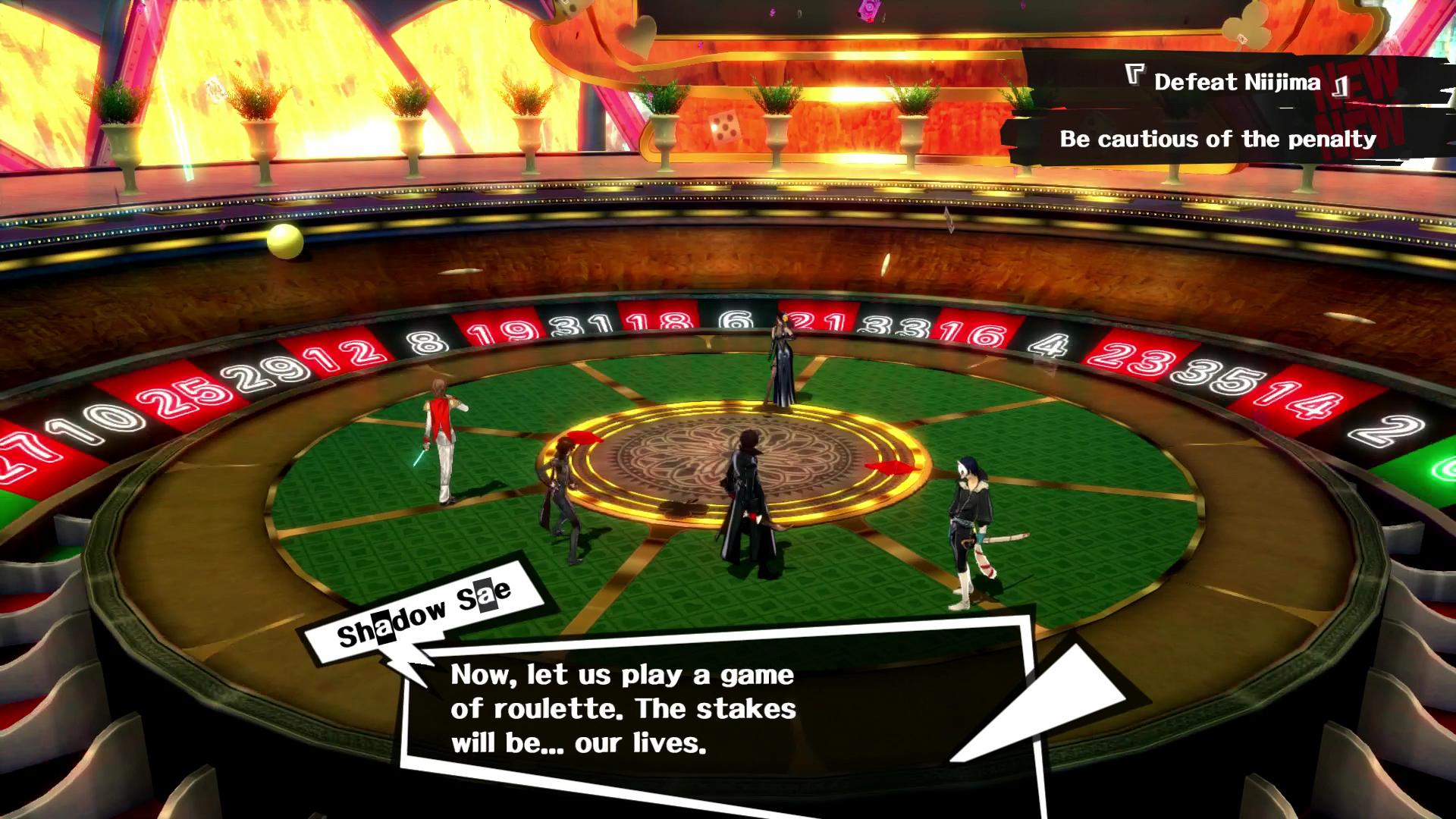 Persona 5 sae roulette