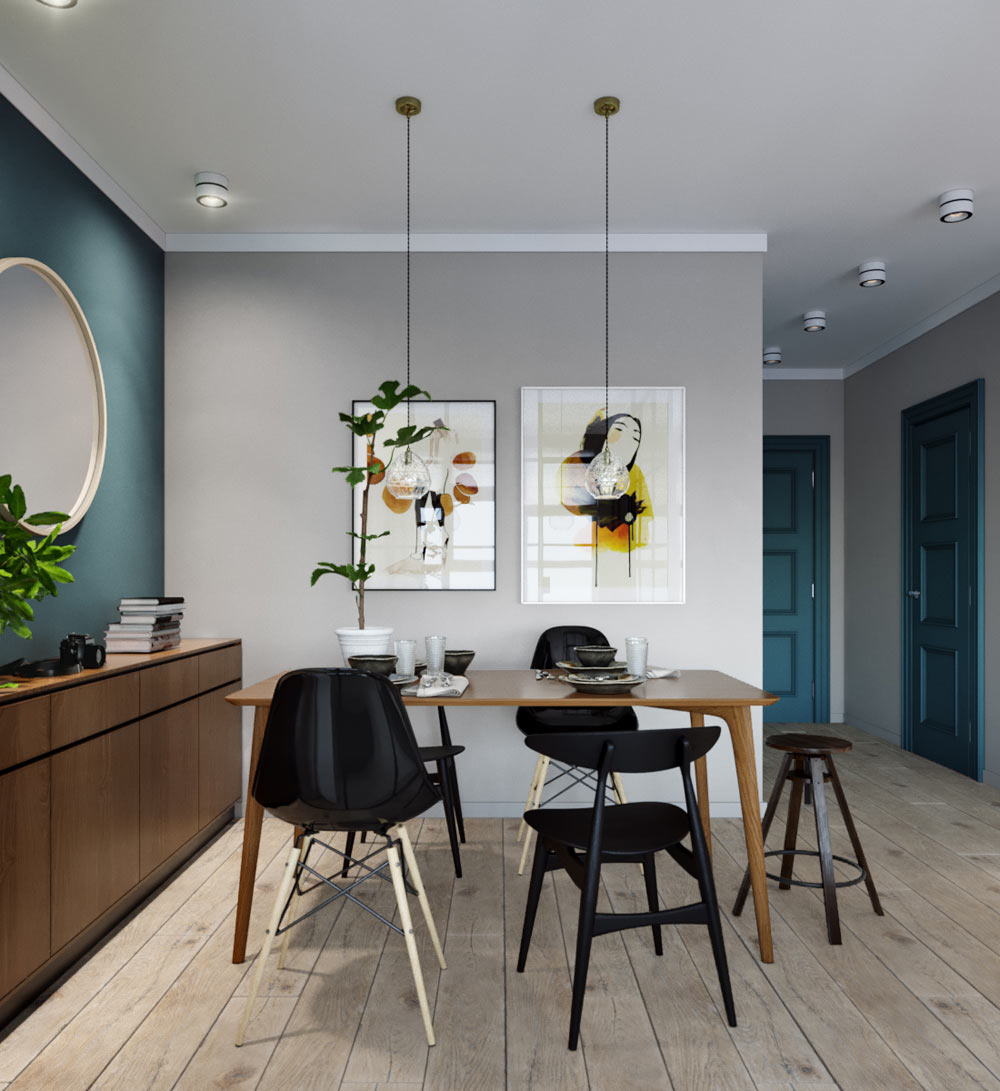 impressive 500 square foot apartment has everything you need curbed