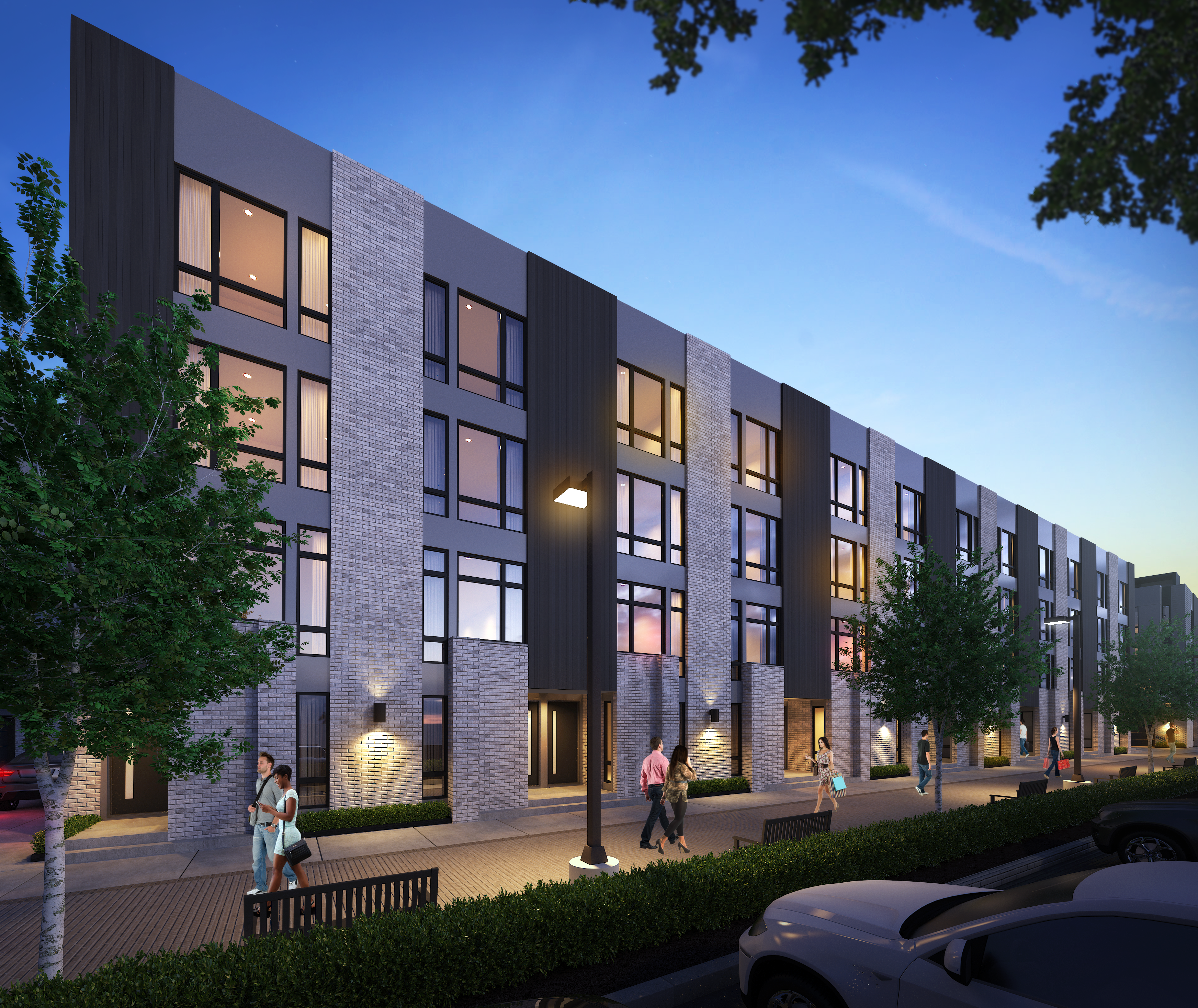 43 Townhome Development Planned For Northern Liberties Curbed Philly Lokal Hotel