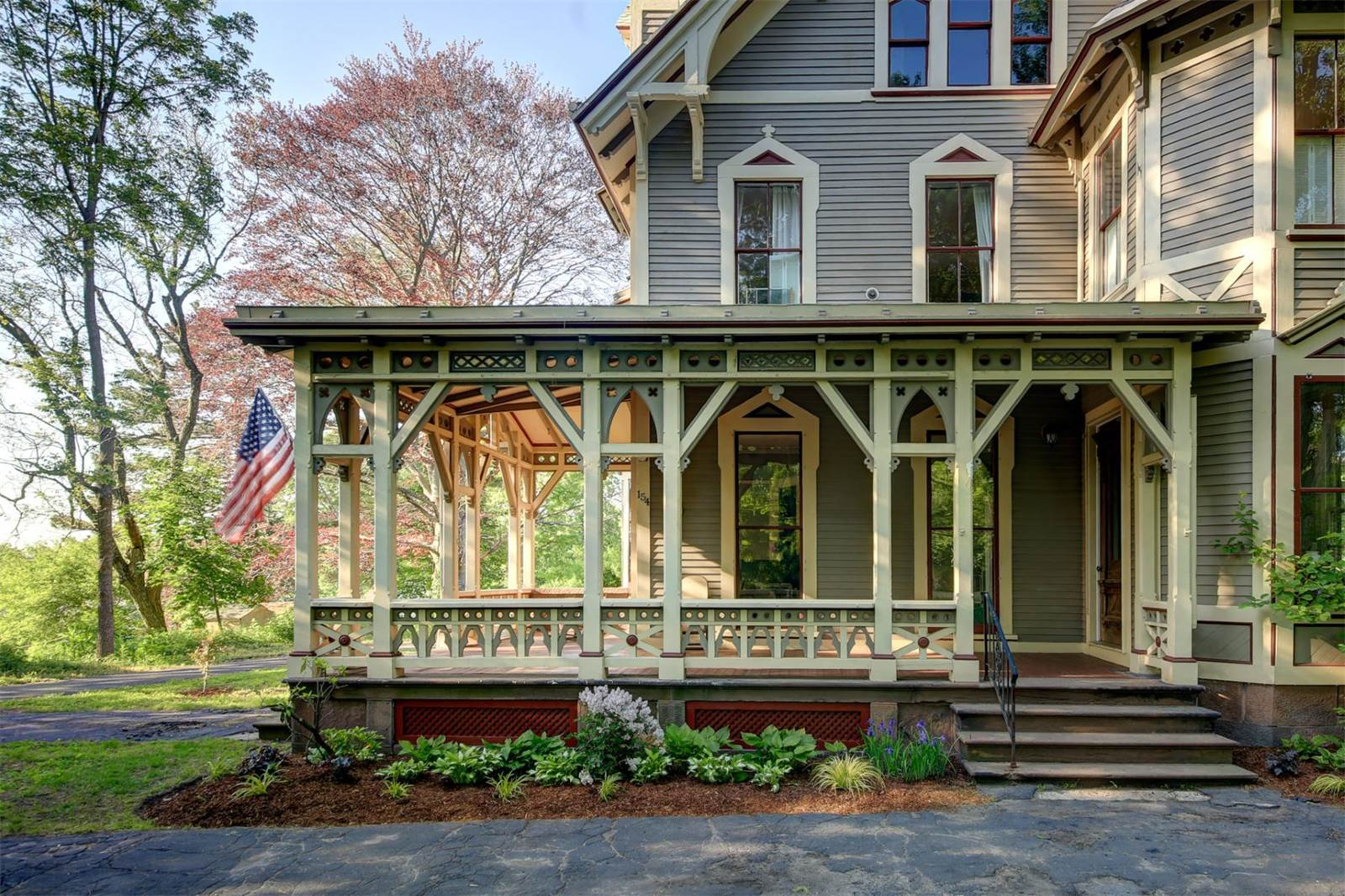 Victorian Gothic House victorian gothic mansion with whimsical secrets asks $525k - curbed